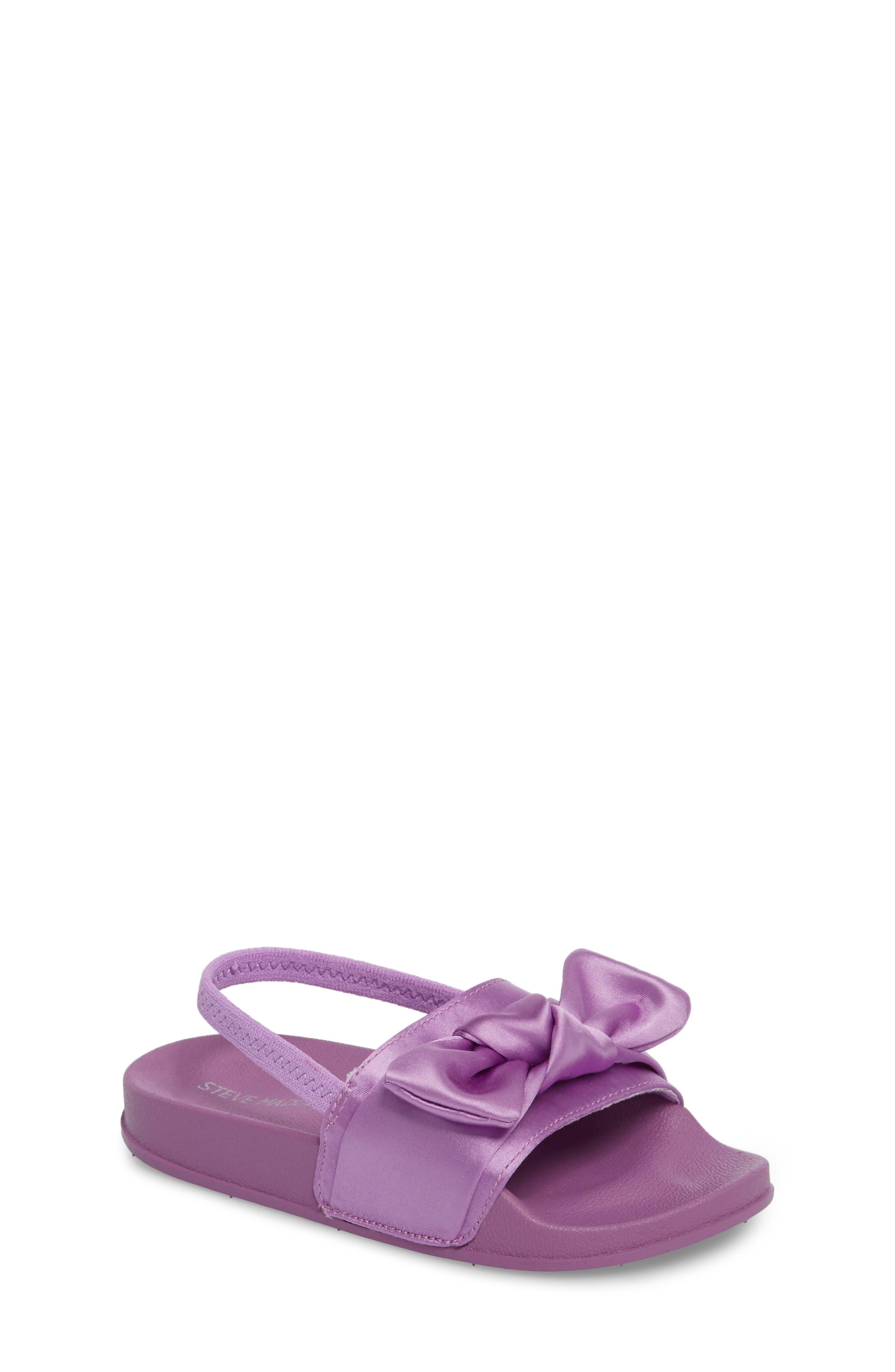 Steve Madden Tsilky Knotted Slide Sandal (Toddler)