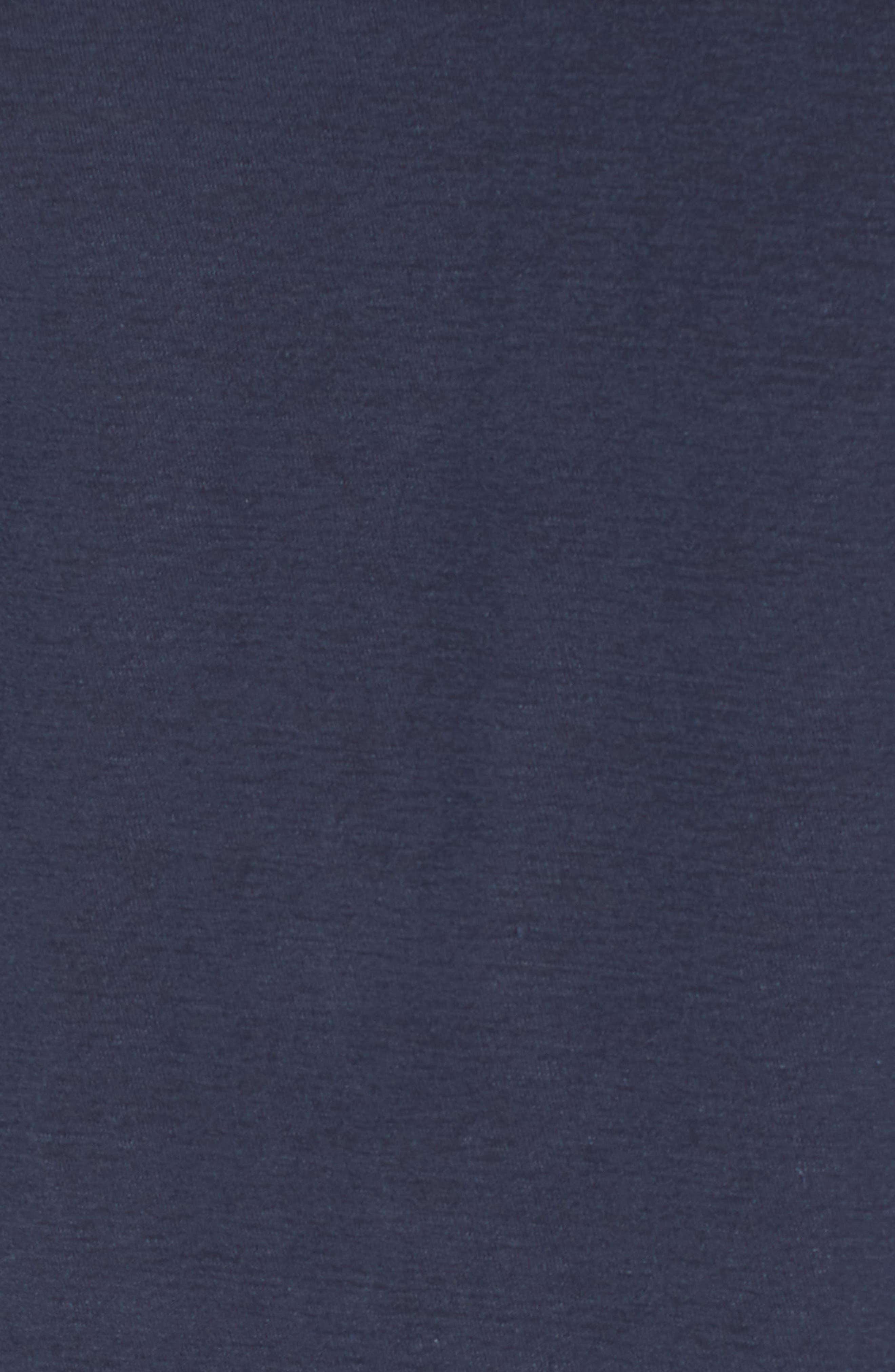 Regular Fit Slub Crewneck T-Shirt,                             Alternate thumbnail 5, color,                             Blue