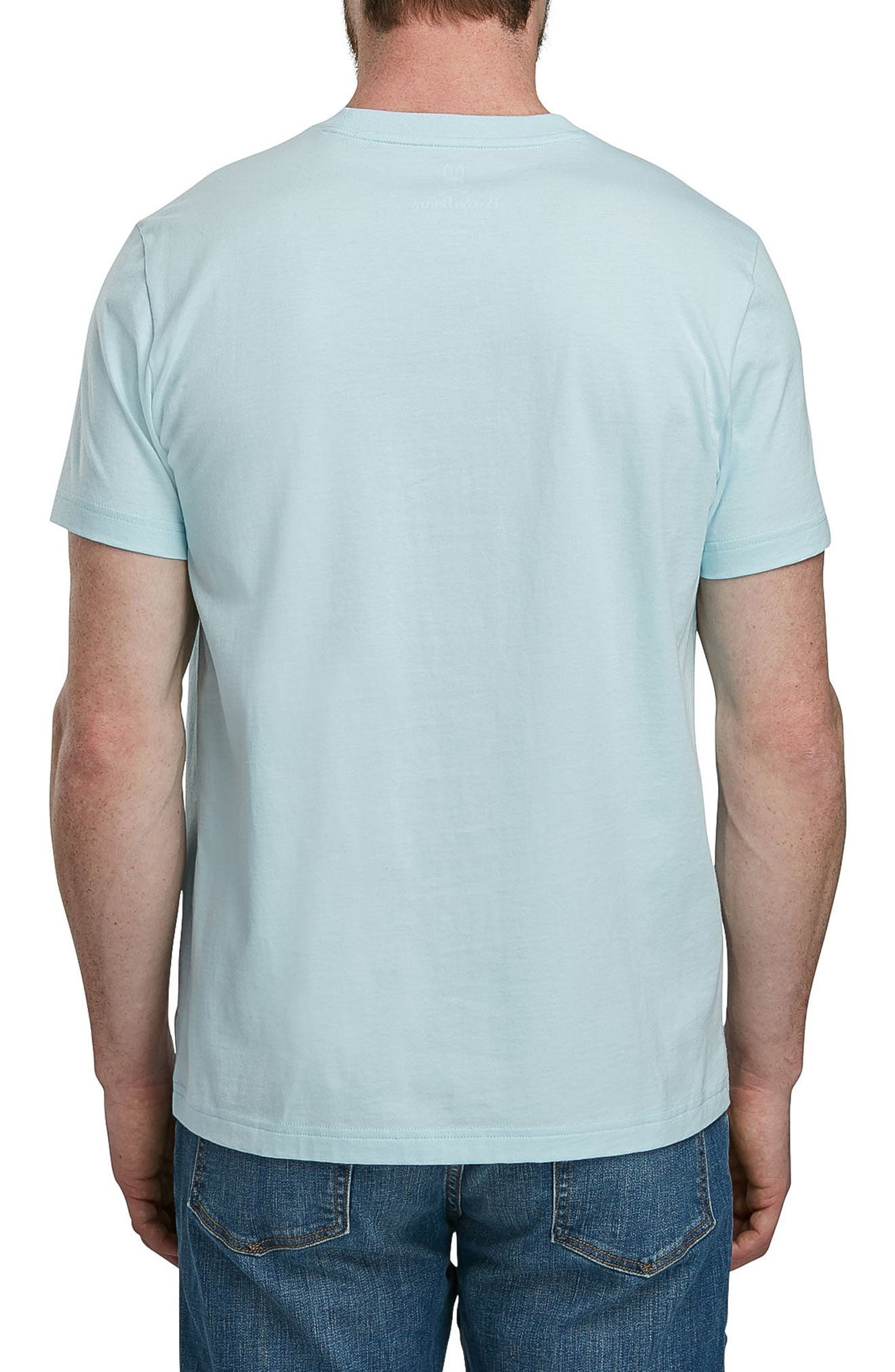 Graphic T-Shirt,                             Alternate thumbnail 2, color,                             Cerulean