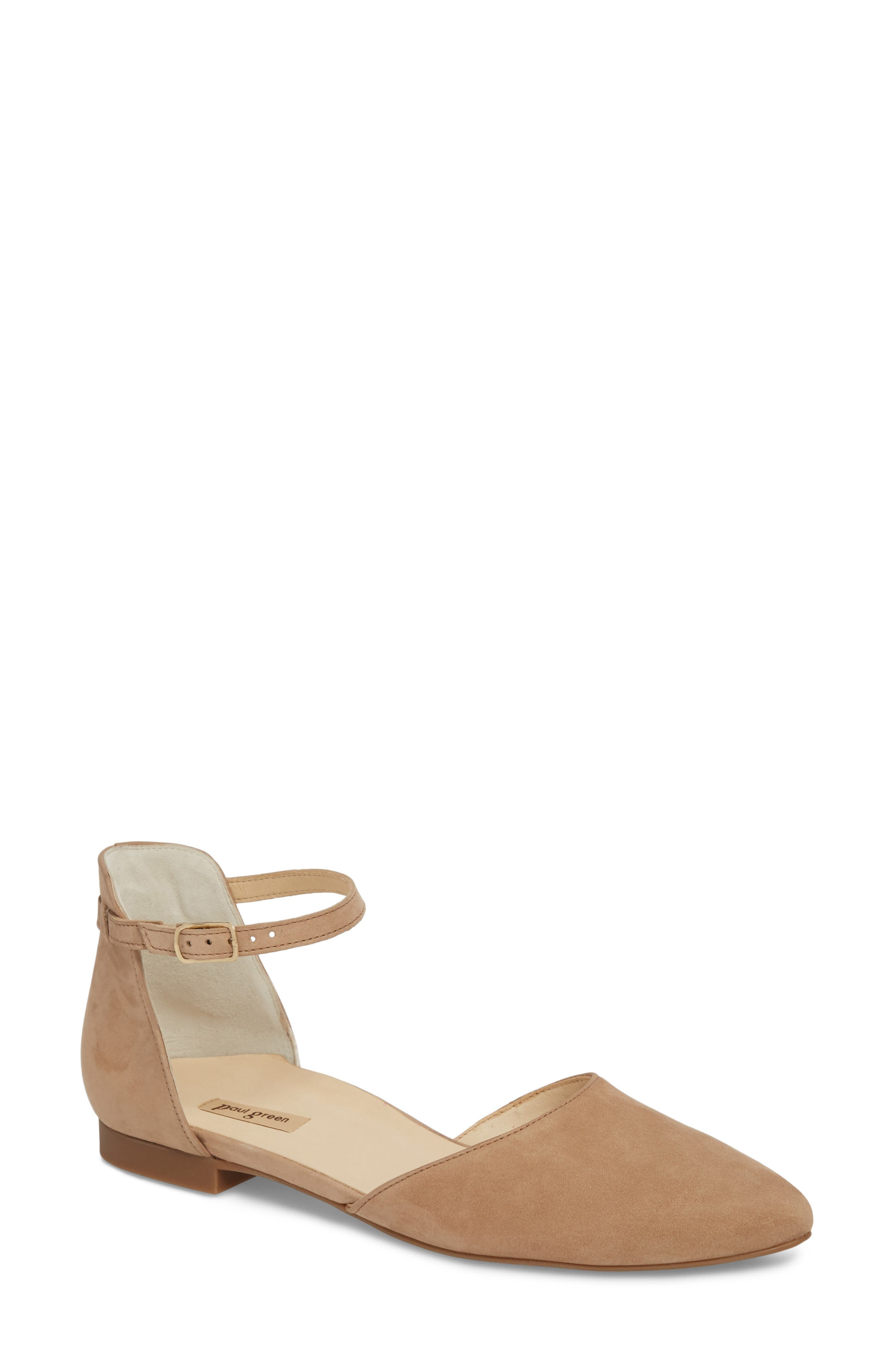 Paul Green Sadie Quarter Strap Flat (Women)