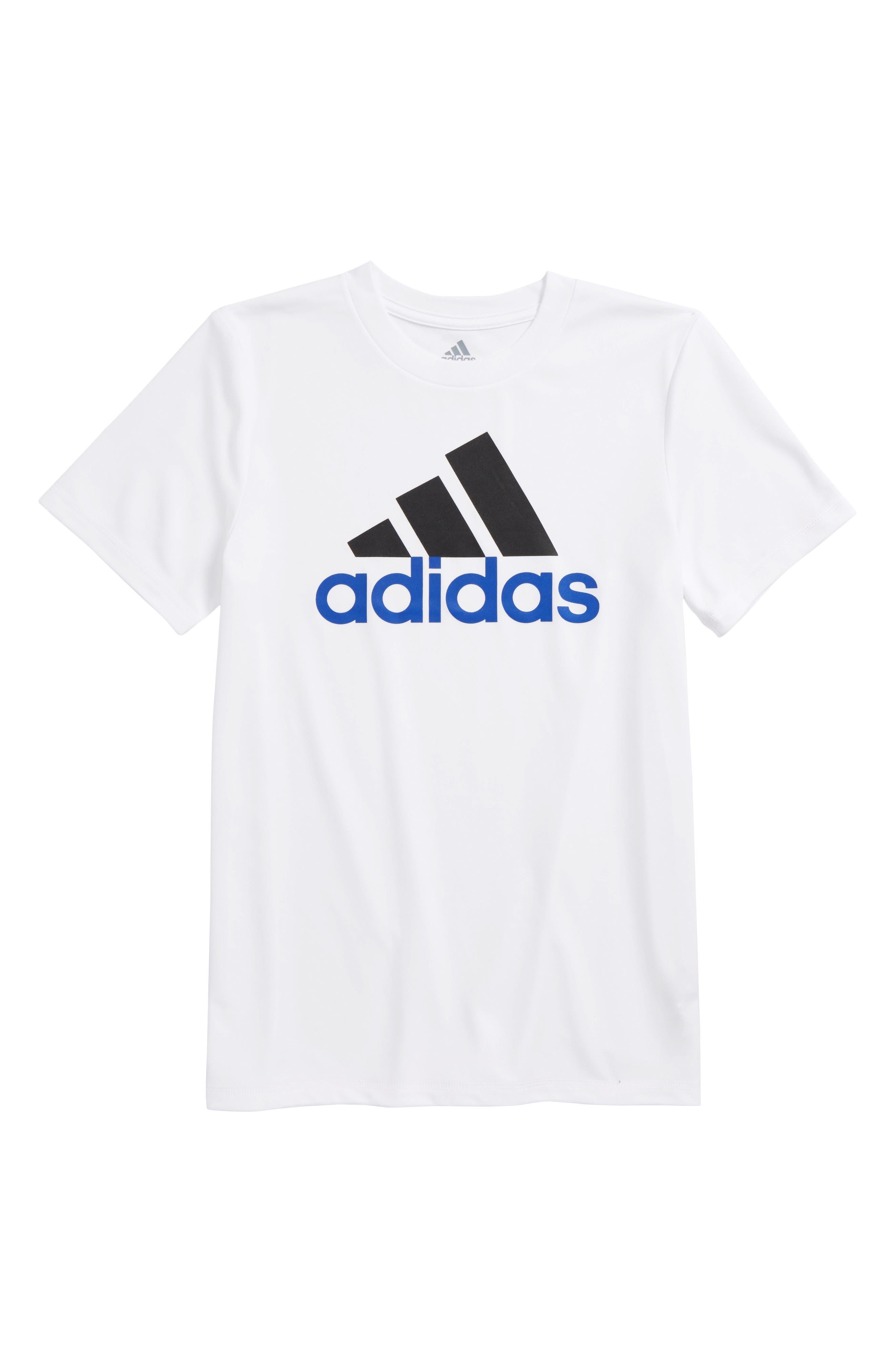 Replenish Climalite<sup>®</sup> T-Shirt,                             Main thumbnail 1, color,                             White