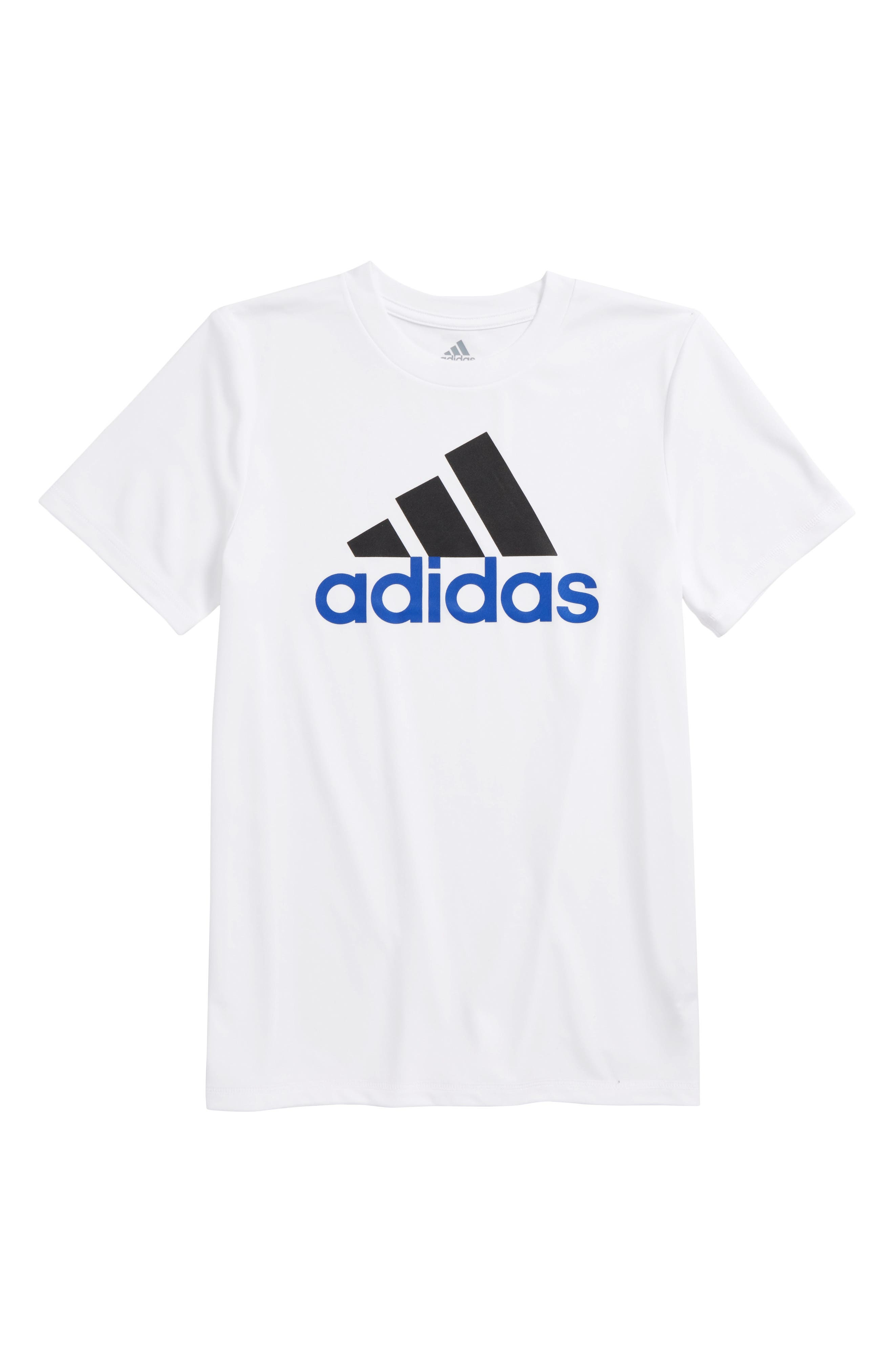 Replenish Climalite<sup>®</sup> T-Shirt,                         Main,                         color, White
