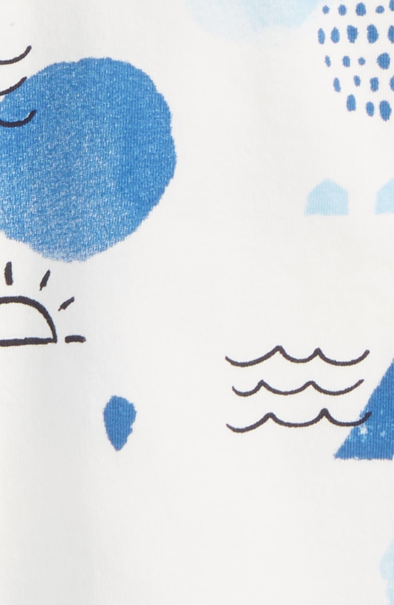 Print Tunic,                             Alternate thumbnail 2, color,                             Off White