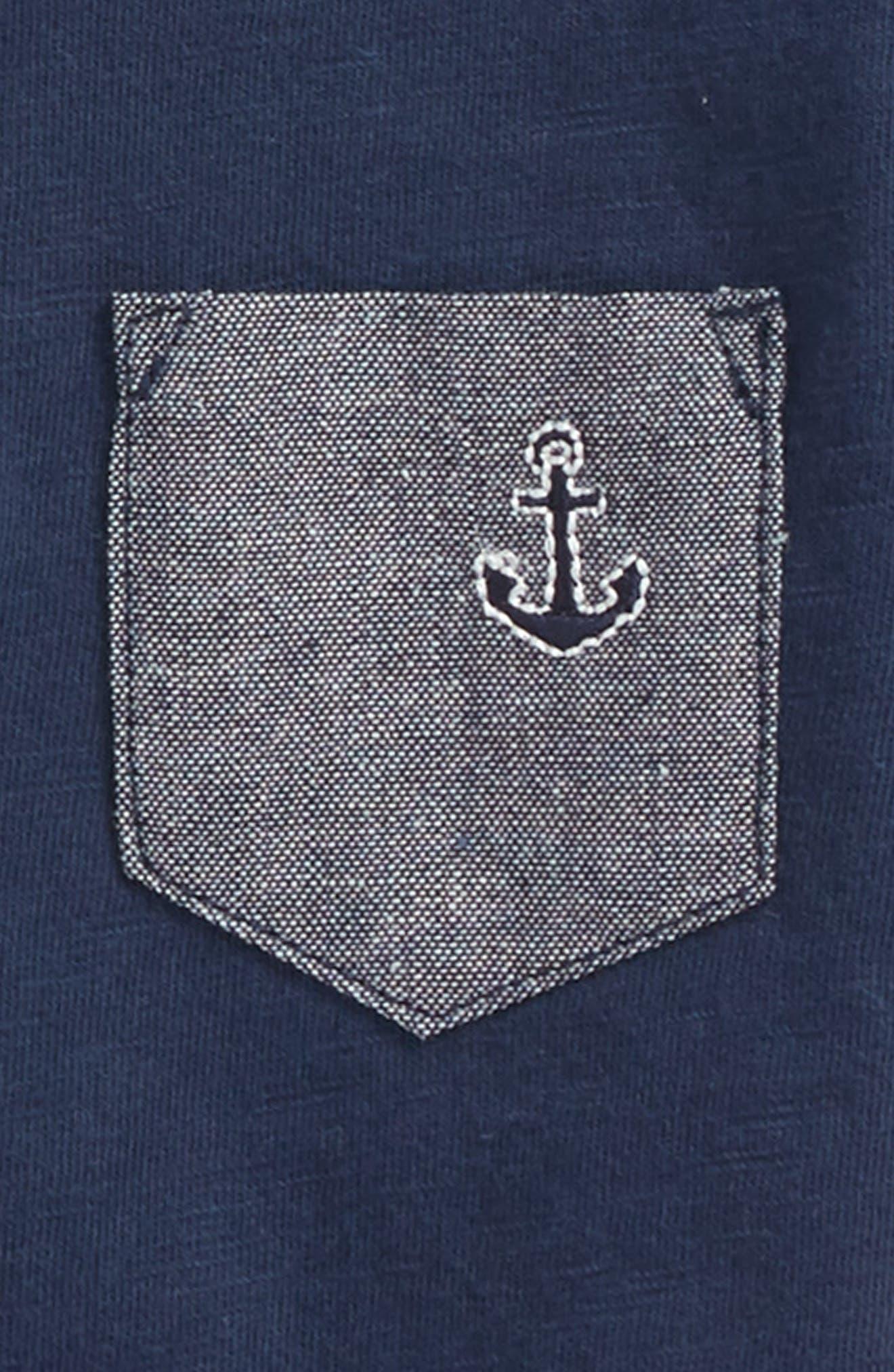 Goodlife T-Shirt,                             Alternate thumbnail 2, color,                             Navy