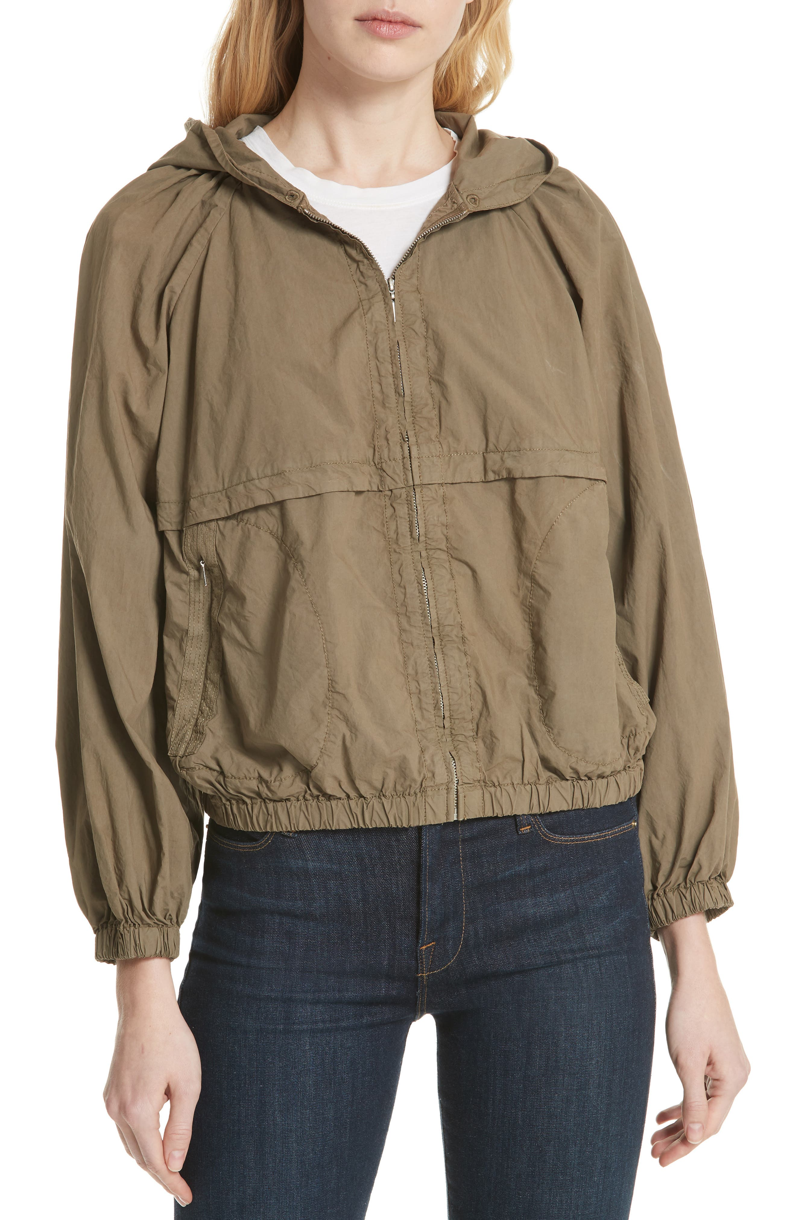 La Vie Rebecca Taylor Parachute Cotton Jacket