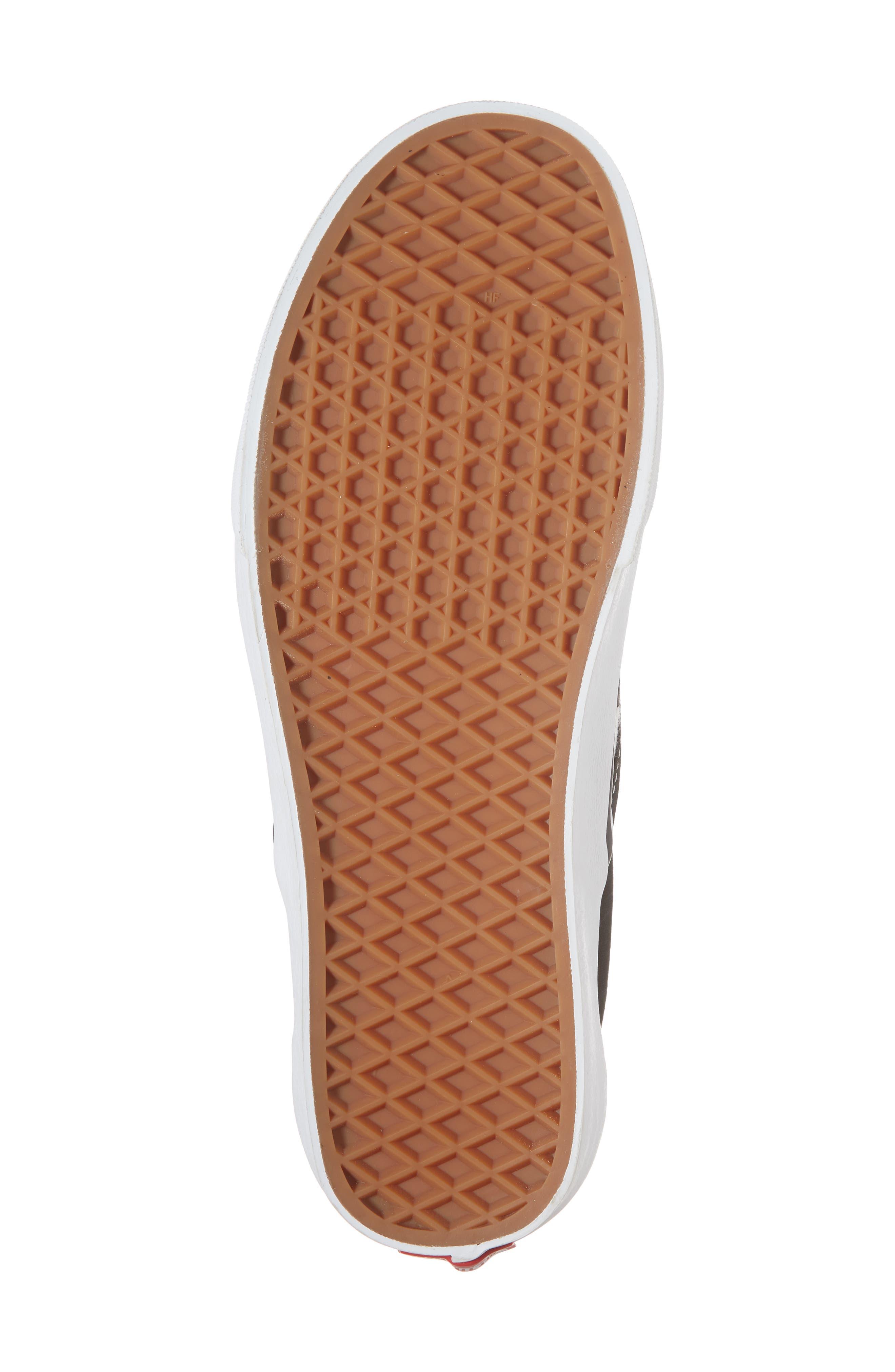Marvel UA Classic Slip-On Sneaker,                             Alternate thumbnail 6, color,                             Checkerboard Textile