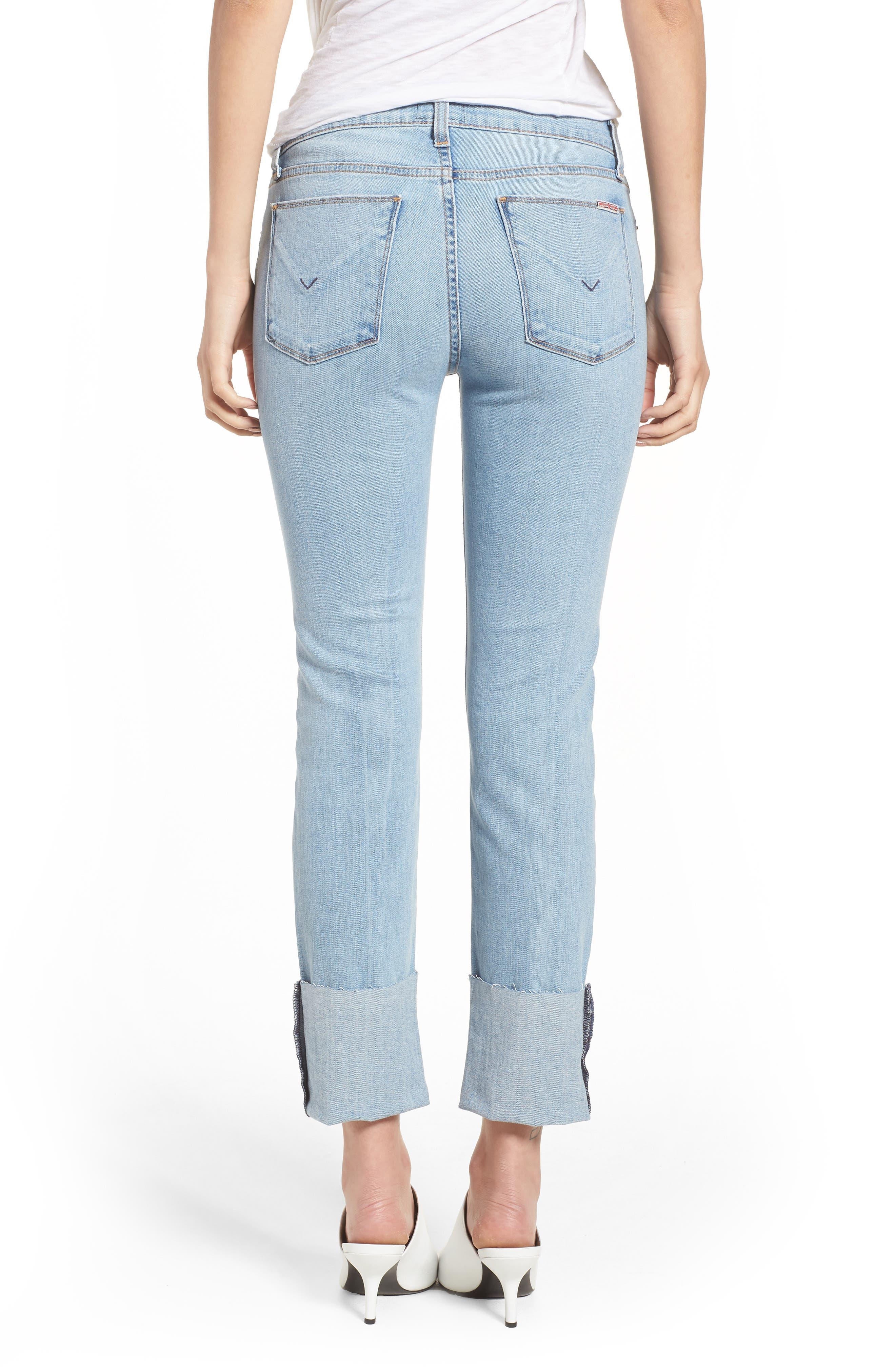 Tally Cuffed Crop Skinny Jeans,                             Alternate thumbnail 2, color,                             Gemini