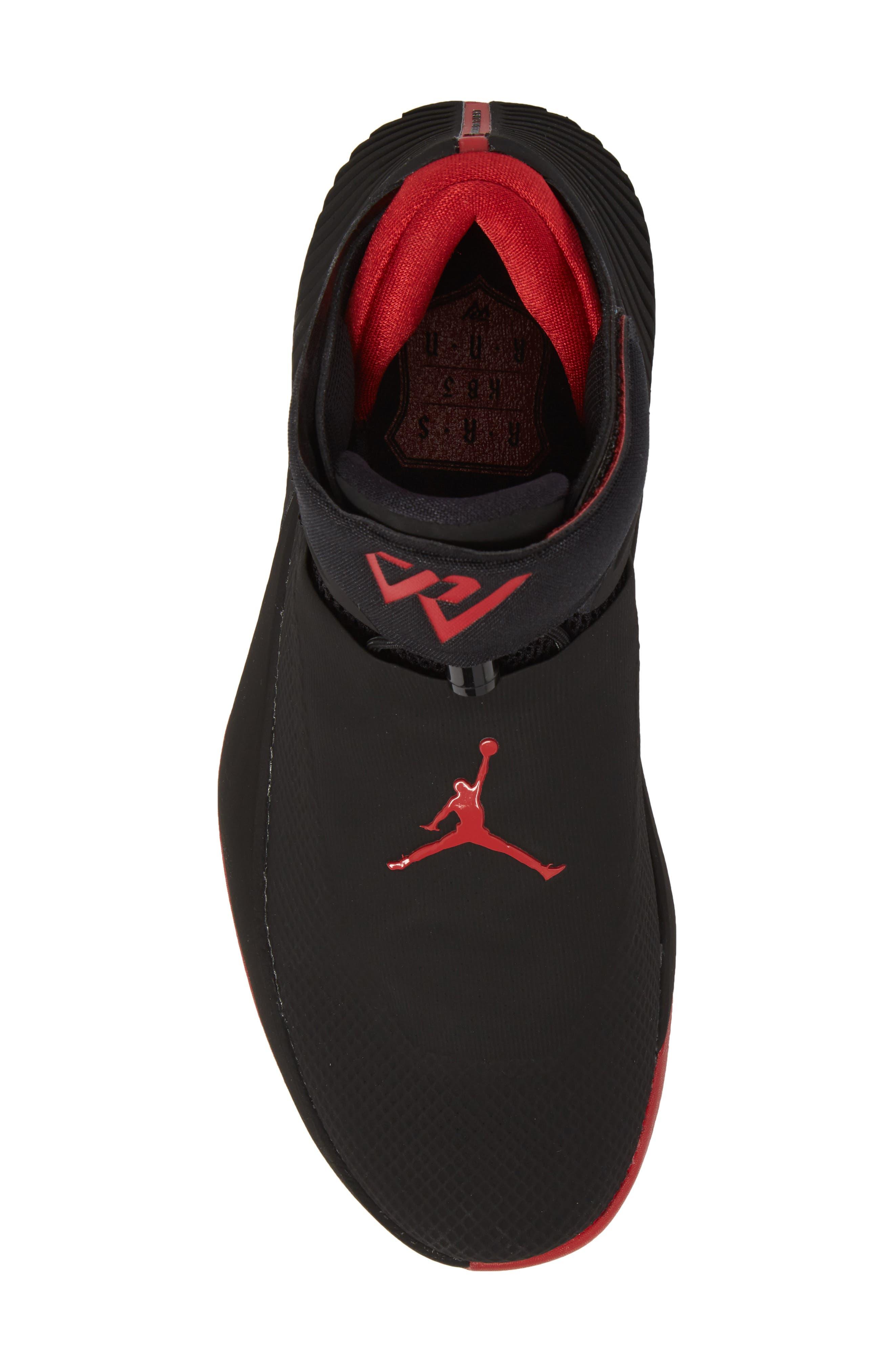 Jordan 'Why Not?' Zero.1 Basketball Shoe,                             Alternate thumbnail 5, color,                             Black/ Hyper Royal