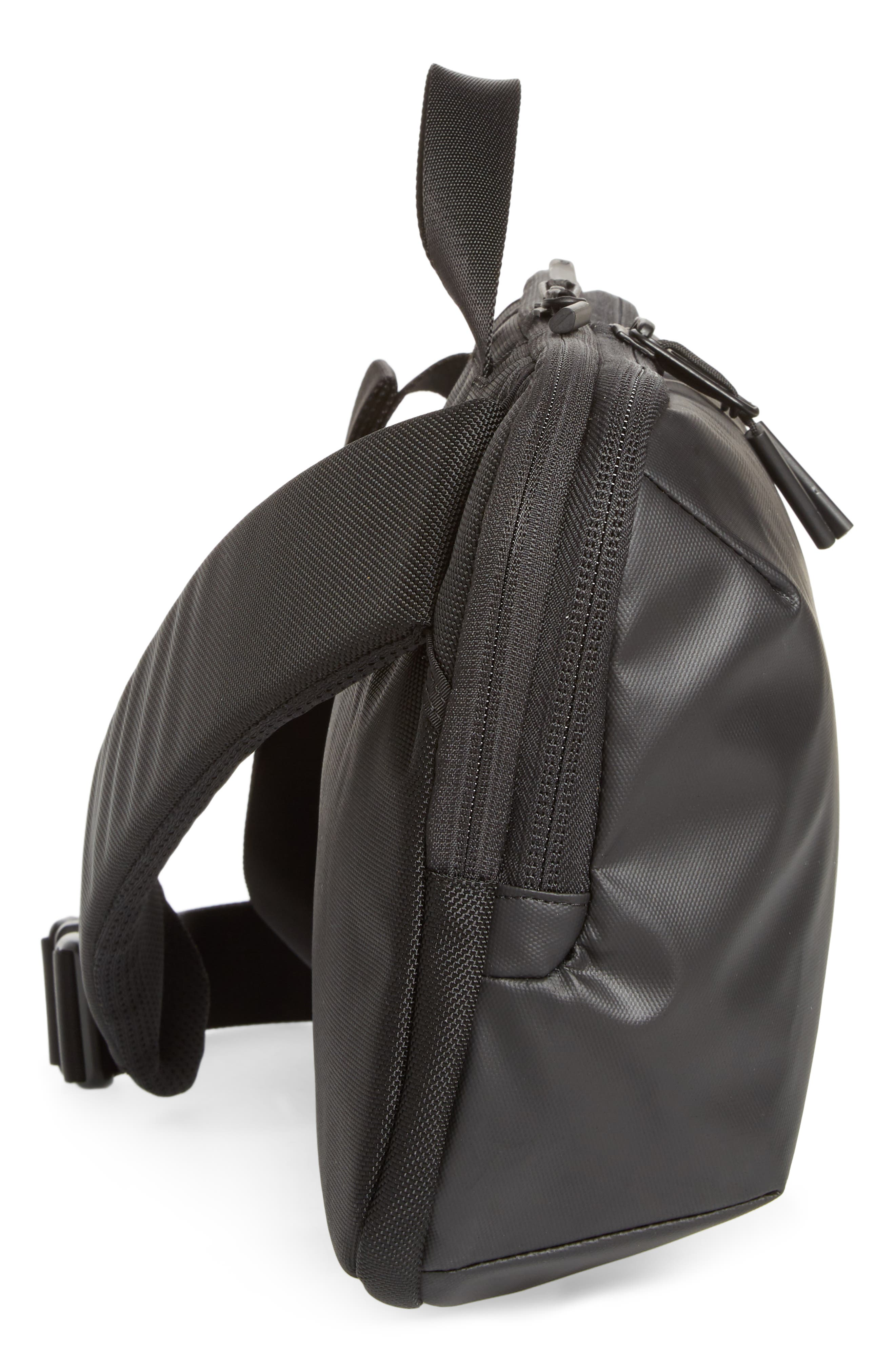 Tech Sling Bag,                             Alternate thumbnail 5, color,                             Black