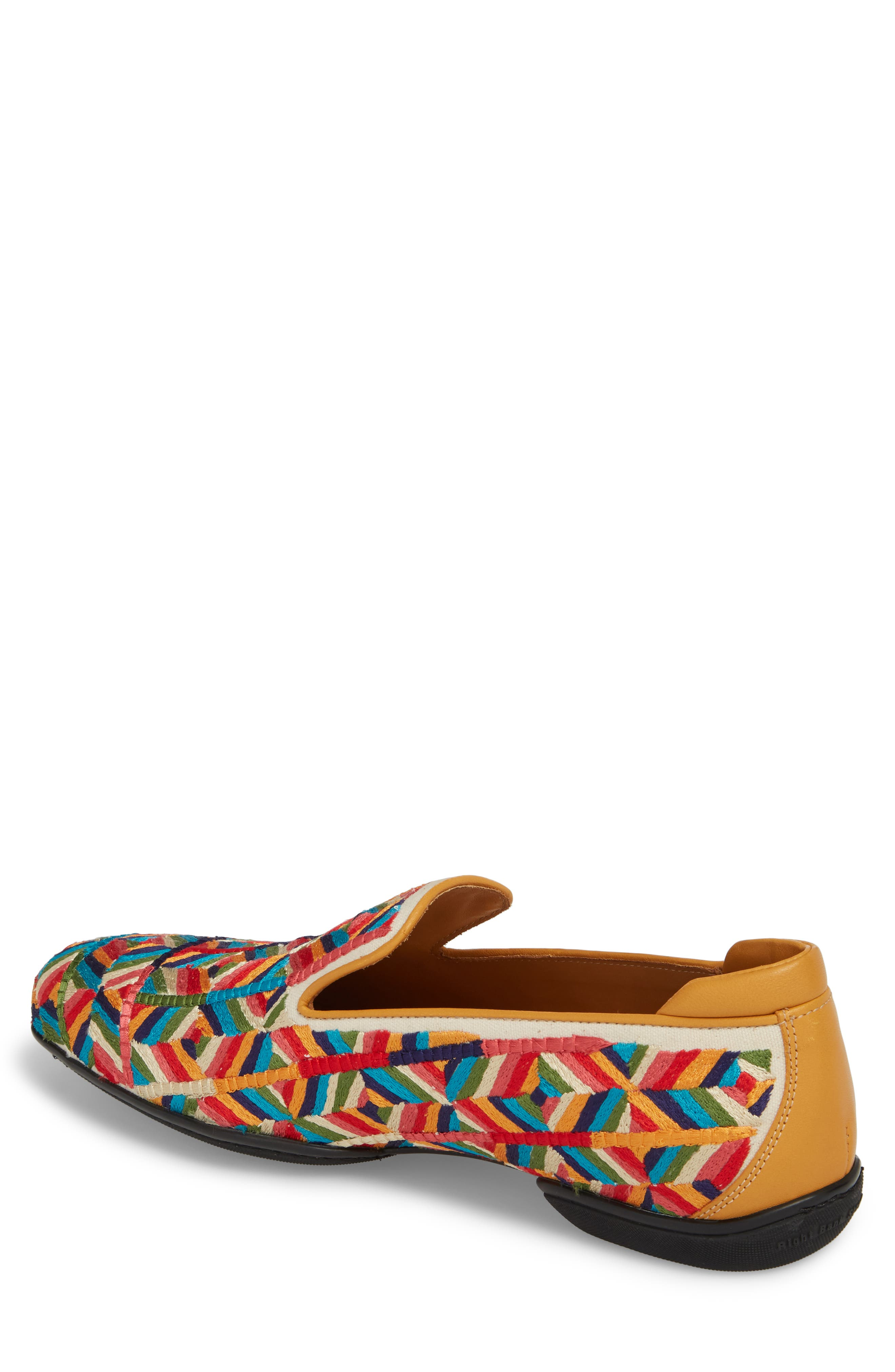 Verge Venetian Loafer,                             Alternate thumbnail 2, color,                             Yellow Fabric
