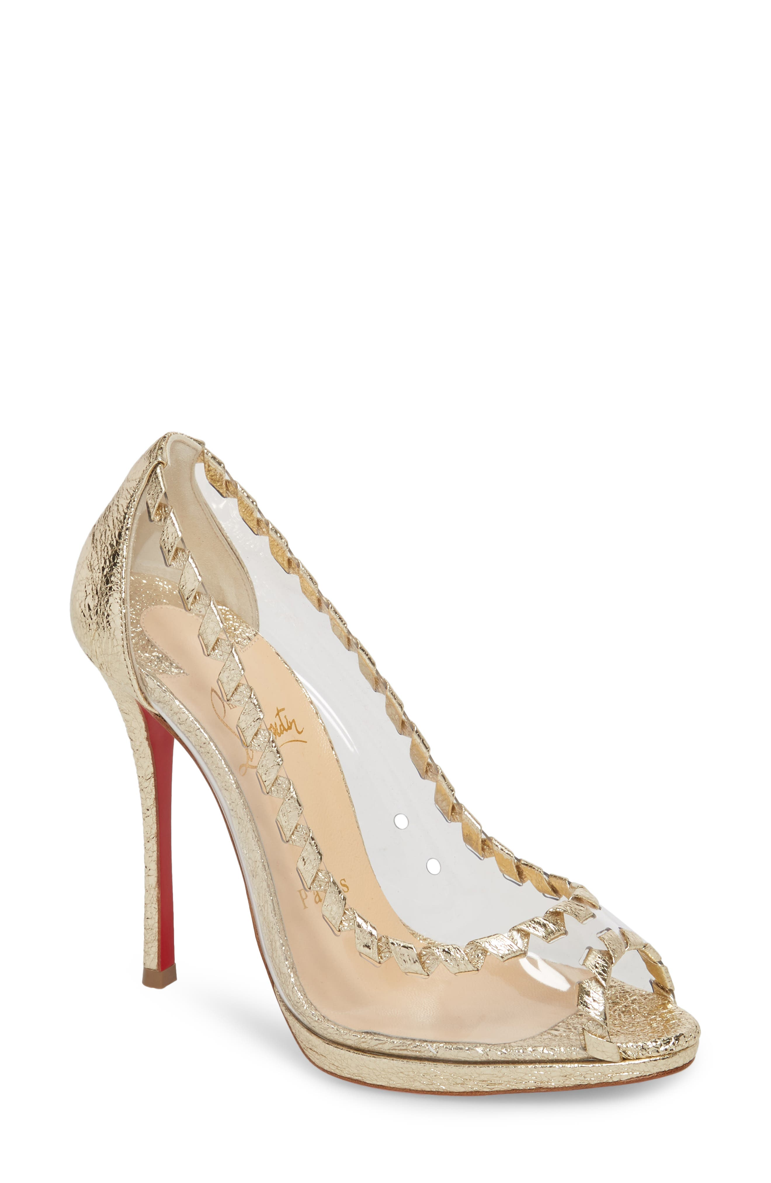 Christian Louboutin Hargaret Whipstitched Pump (Women)