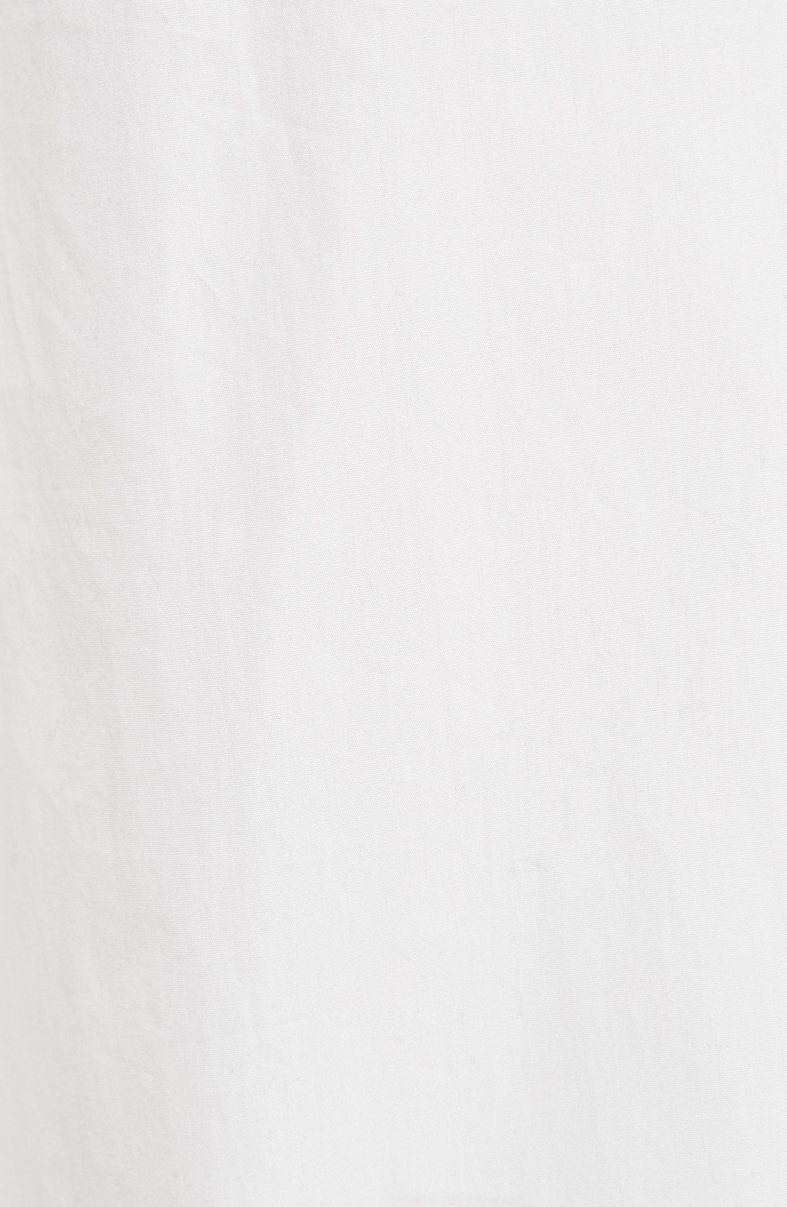Side Slit Culottes,                             Alternate thumbnail 5, color,                             Off White