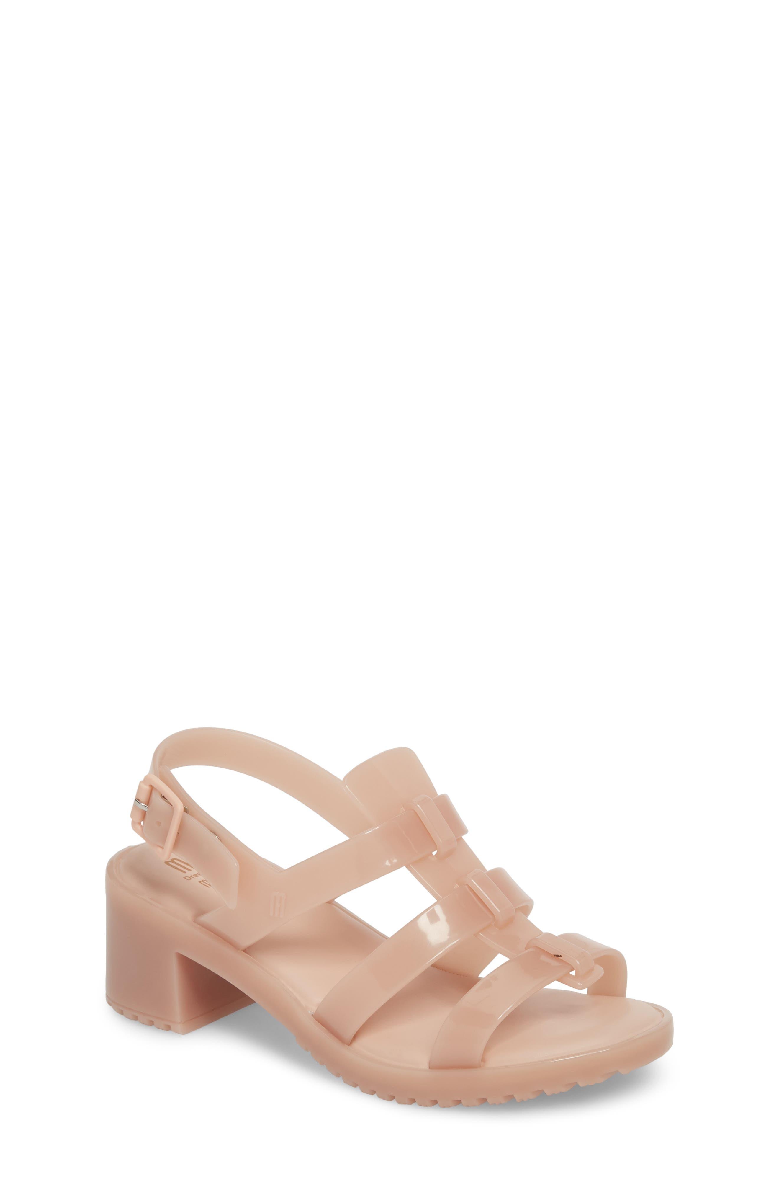 'Flox' Sandal,                             Main thumbnail 1, color,                             Light Pink Matte