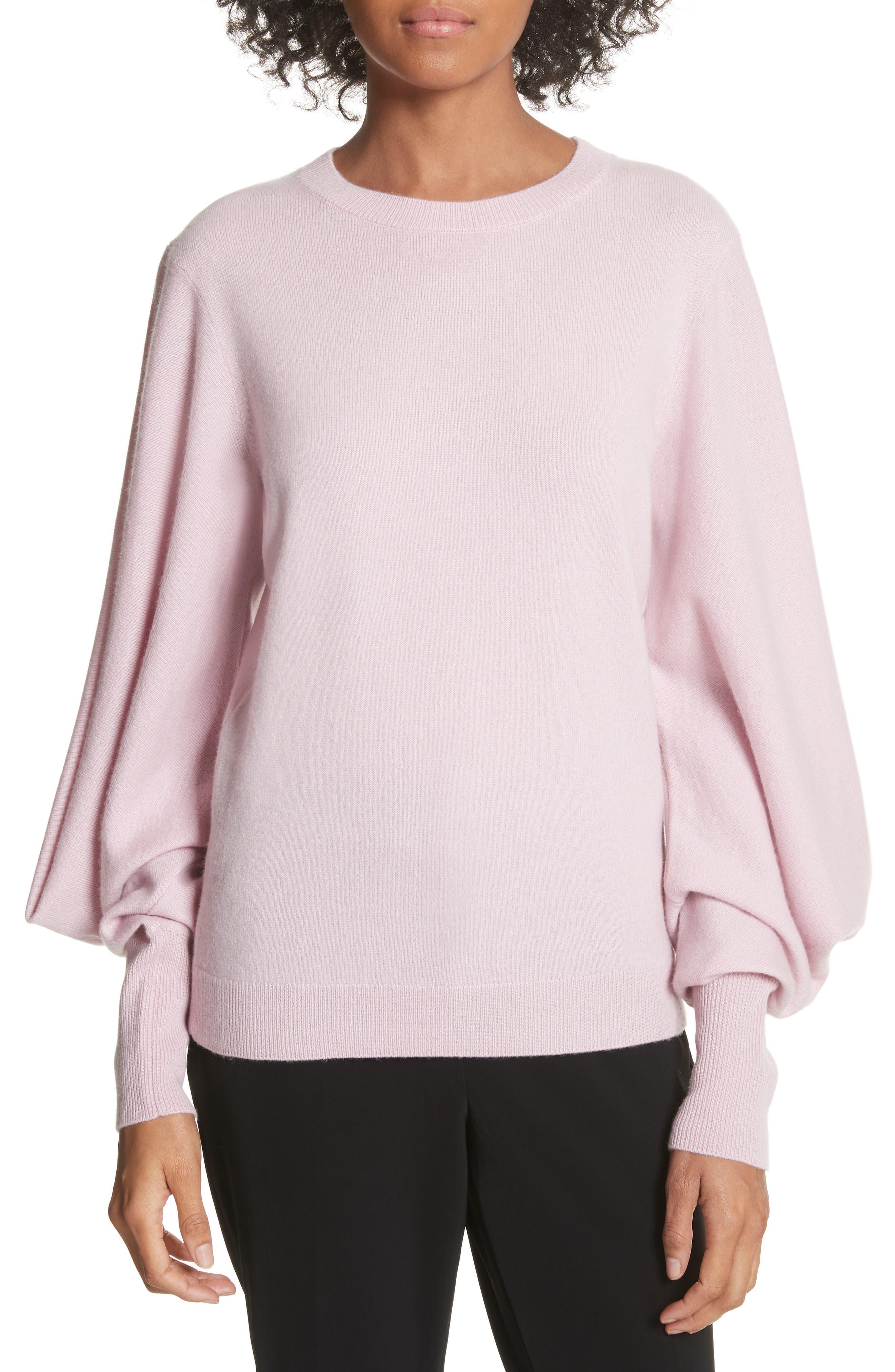 Fluri Cashmere Sweater,                             Main thumbnail 1, color,                             Light Pink