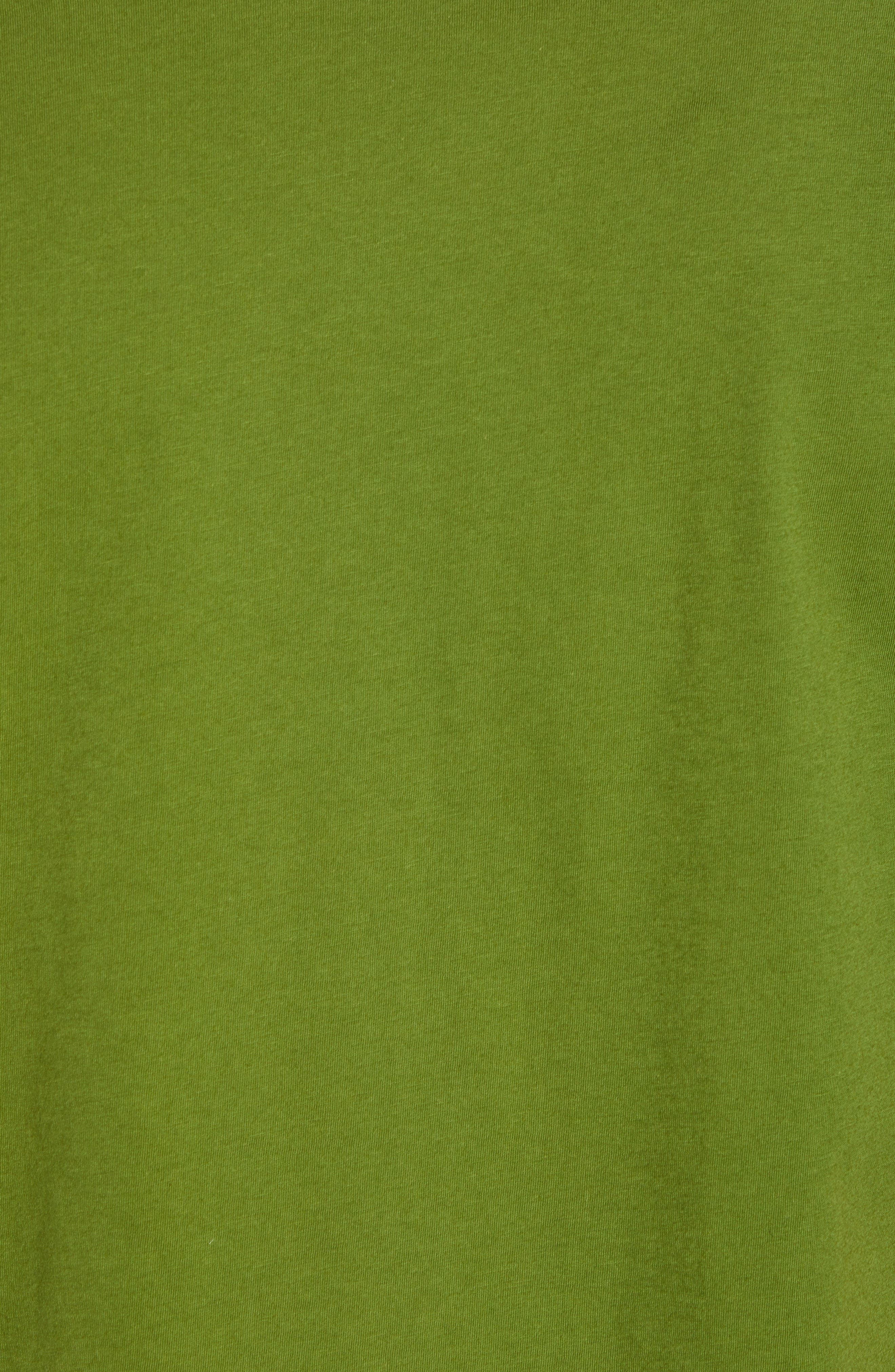 Fitz Roy Scope Crewneck T-Shirt,                             Alternate thumbnail 5, color,                             Sprouted Green