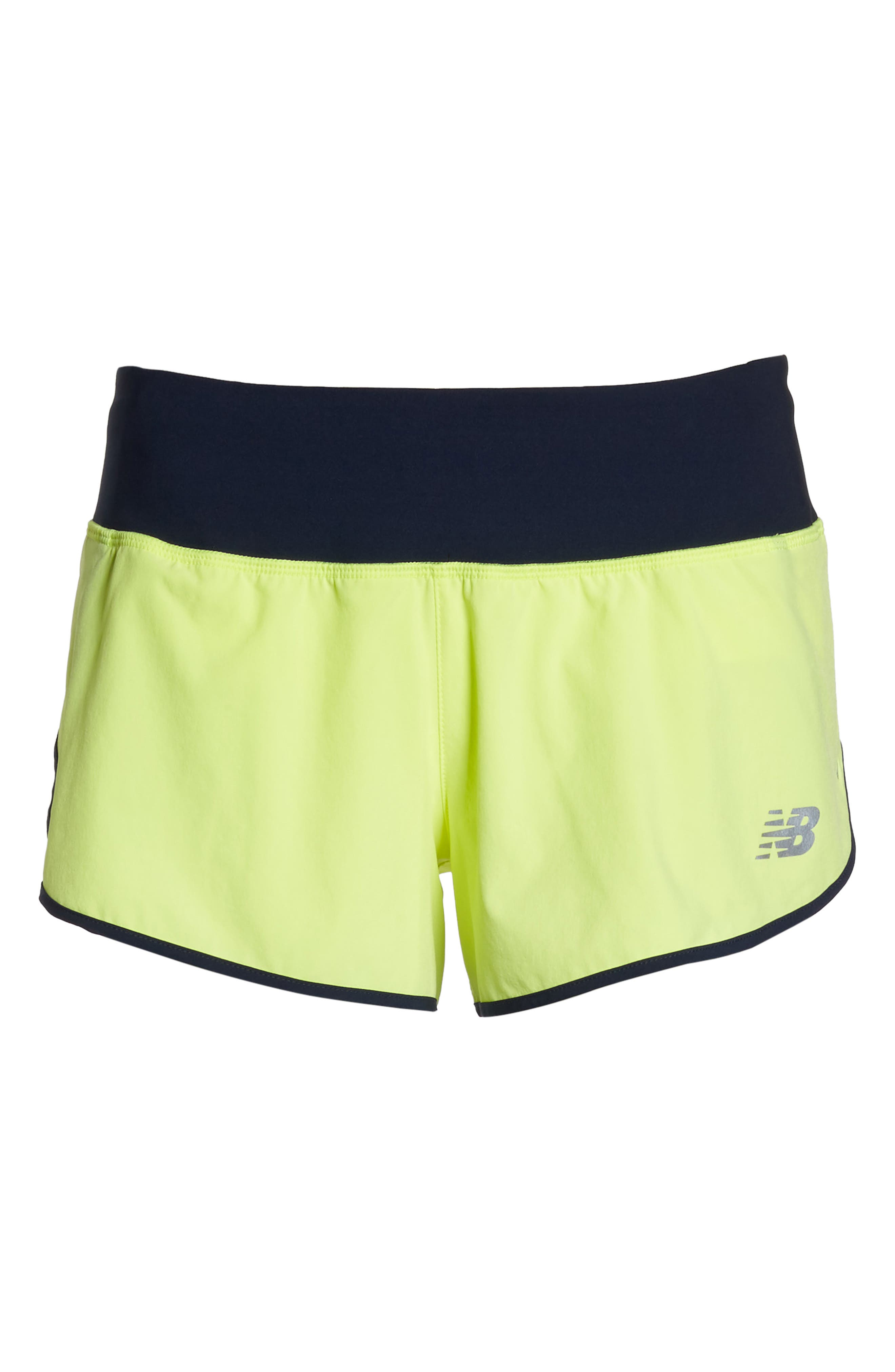 Impact 3 Shorts,                             Alternate thumbnail 7, color,                             Solar Yellow