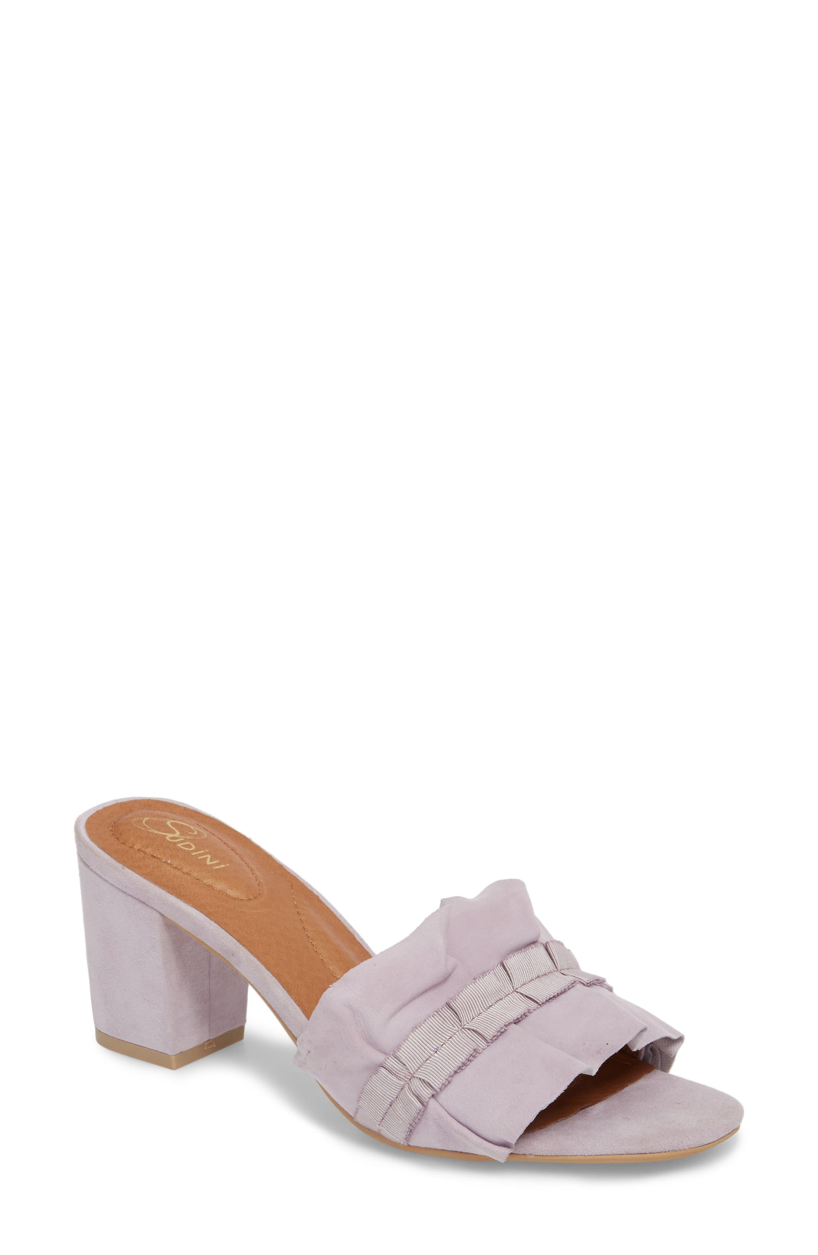 Nea Sandal,                         Main,                         color, Lilac Suede