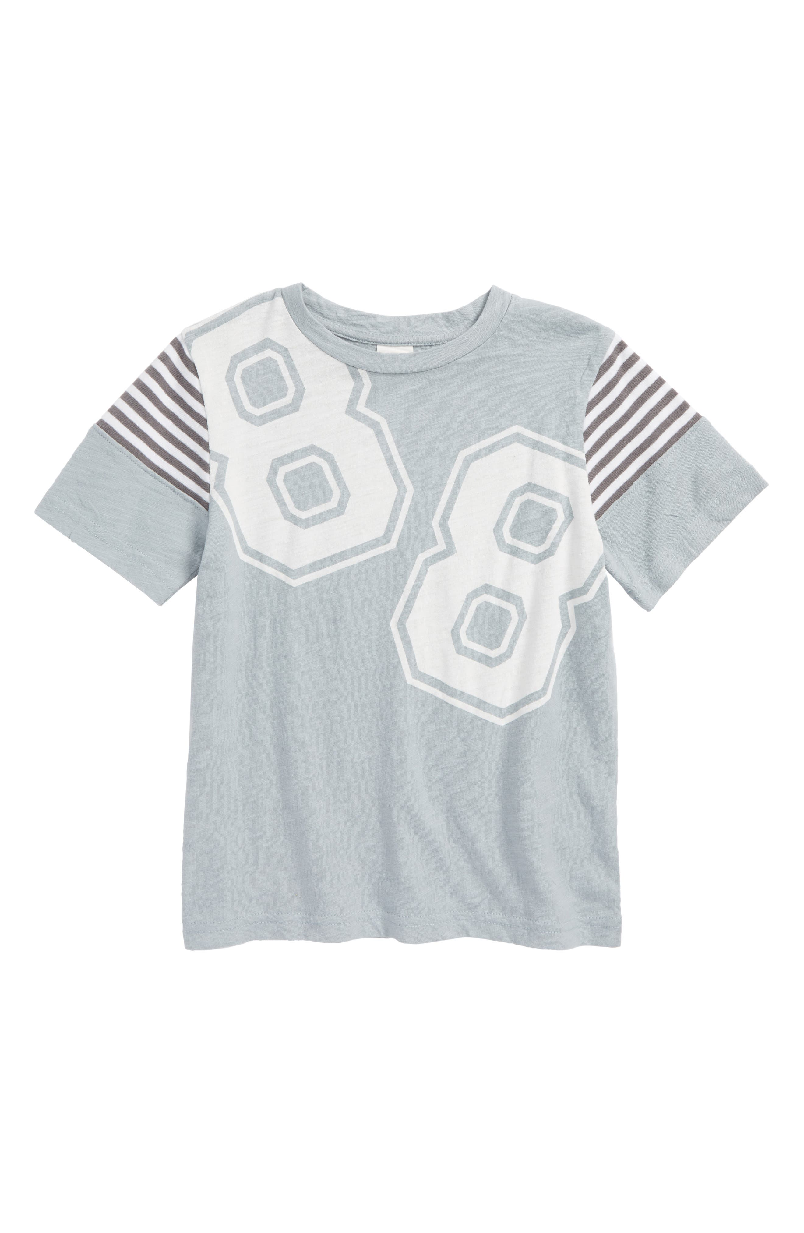 Graphic T-Shirt,                         Main,                         color, Grey Quarry Varsity