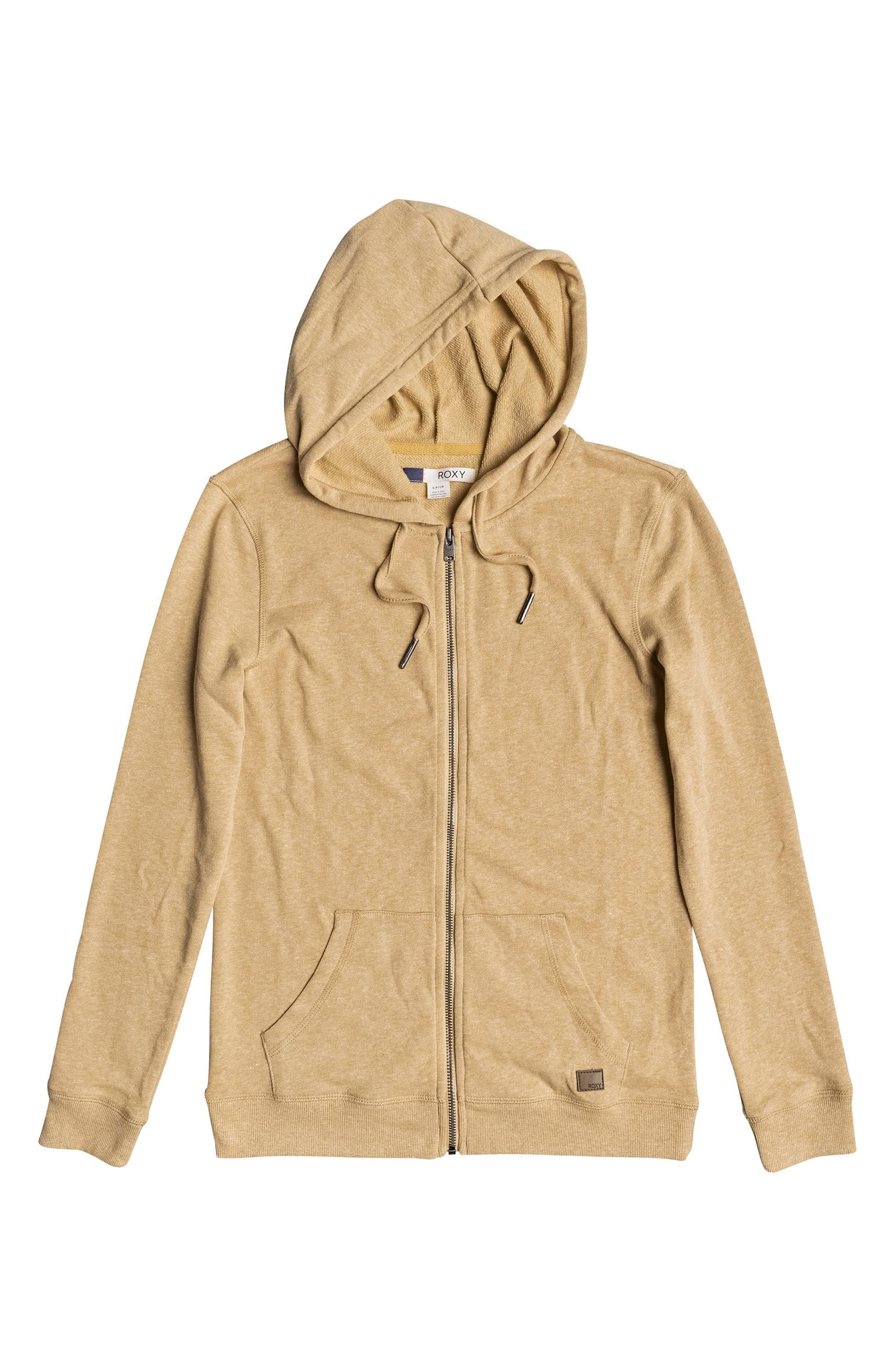 Trippin Hoodie,                             Alternate thumbnail 4, color,                             Buff Yellow Heather