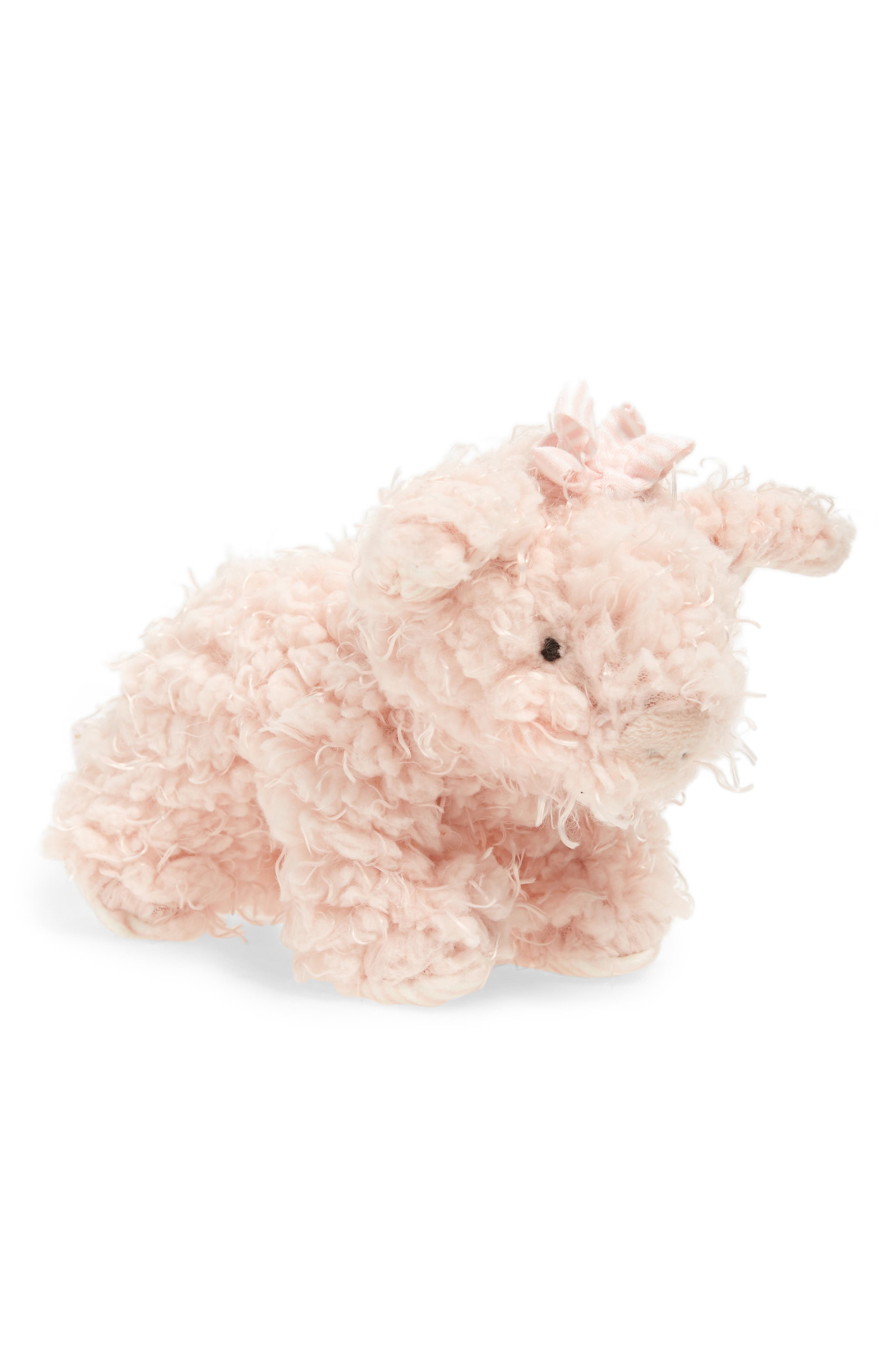 Patty Pig Stuffed Animal,                             Main thumbnail 1, color,                             Peony Pink