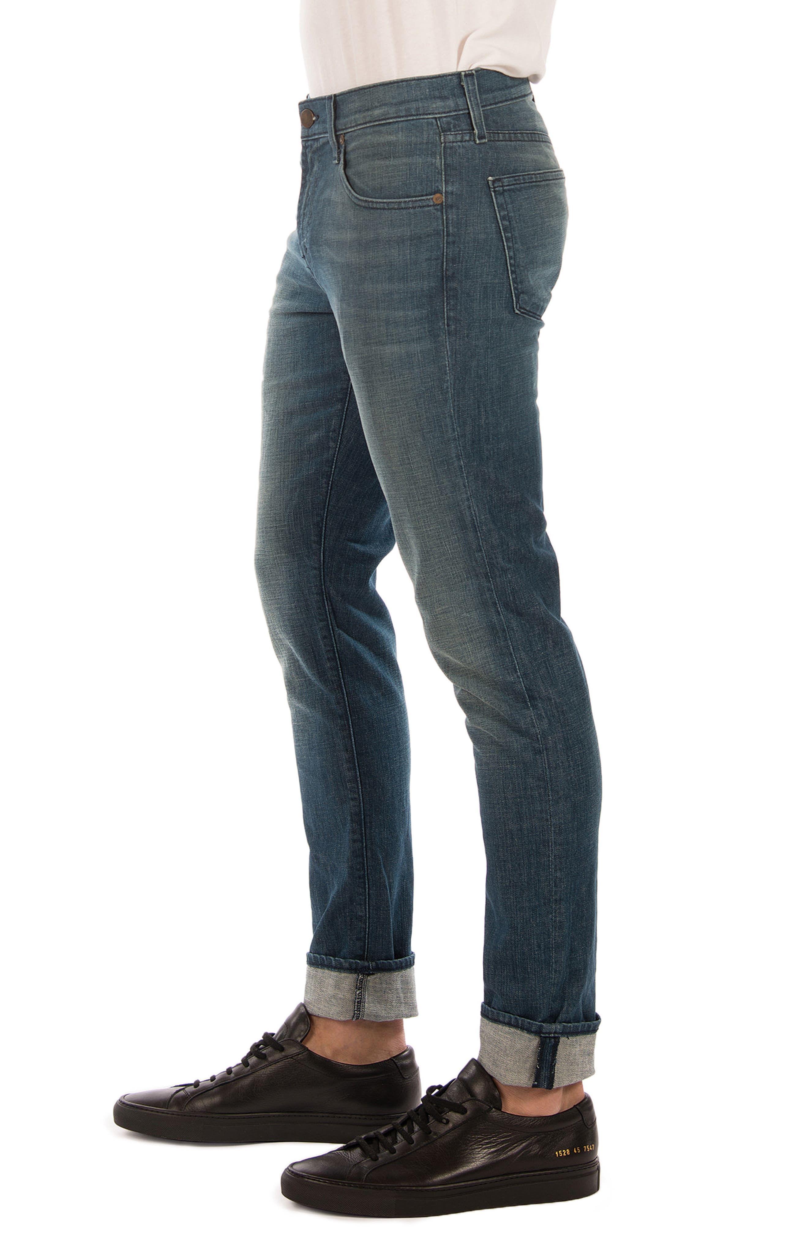 Tyler Slim Fit Jeans,                             Alternate thumbnail 3, color,                             Latitude