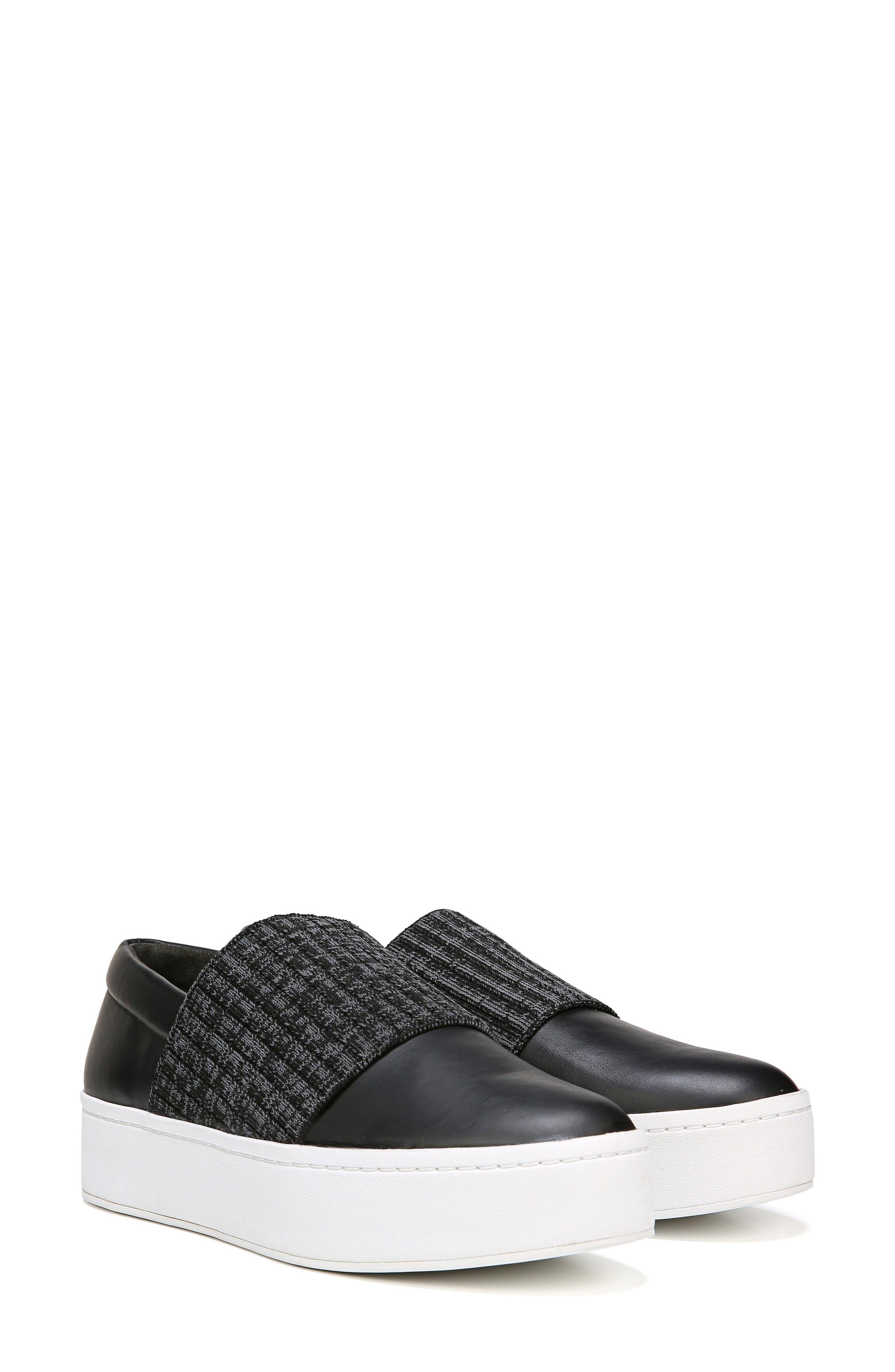 Weadon Slip-On Sneaker,                             Alternate thumbnail 7, color,                             Black Siviglia Calf