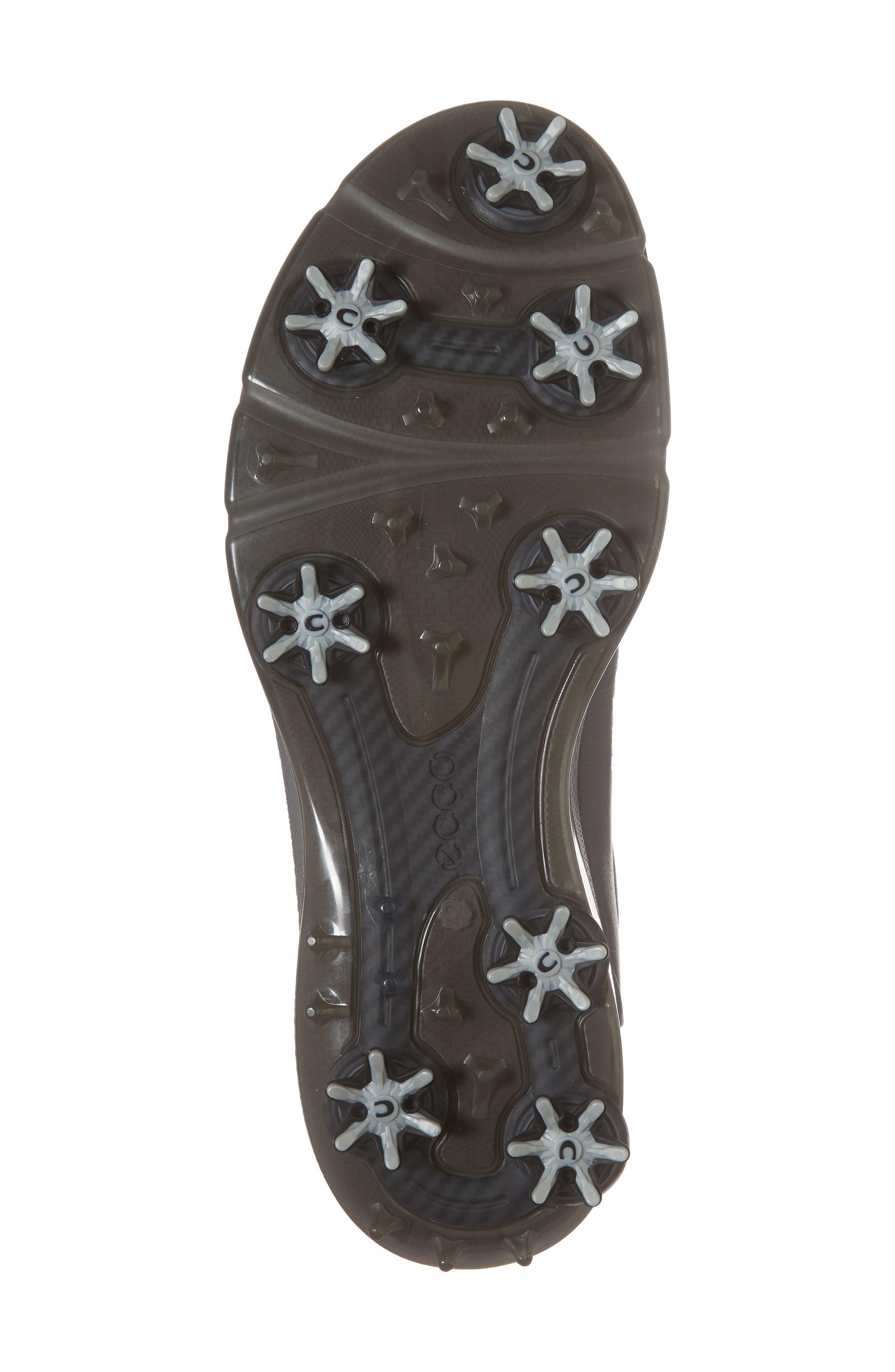 BIOM G 2 Free Gore-Tex<sup>®</sup> Golf Shoe,                             Alternate thumbnail 6, color,                             Black Leather