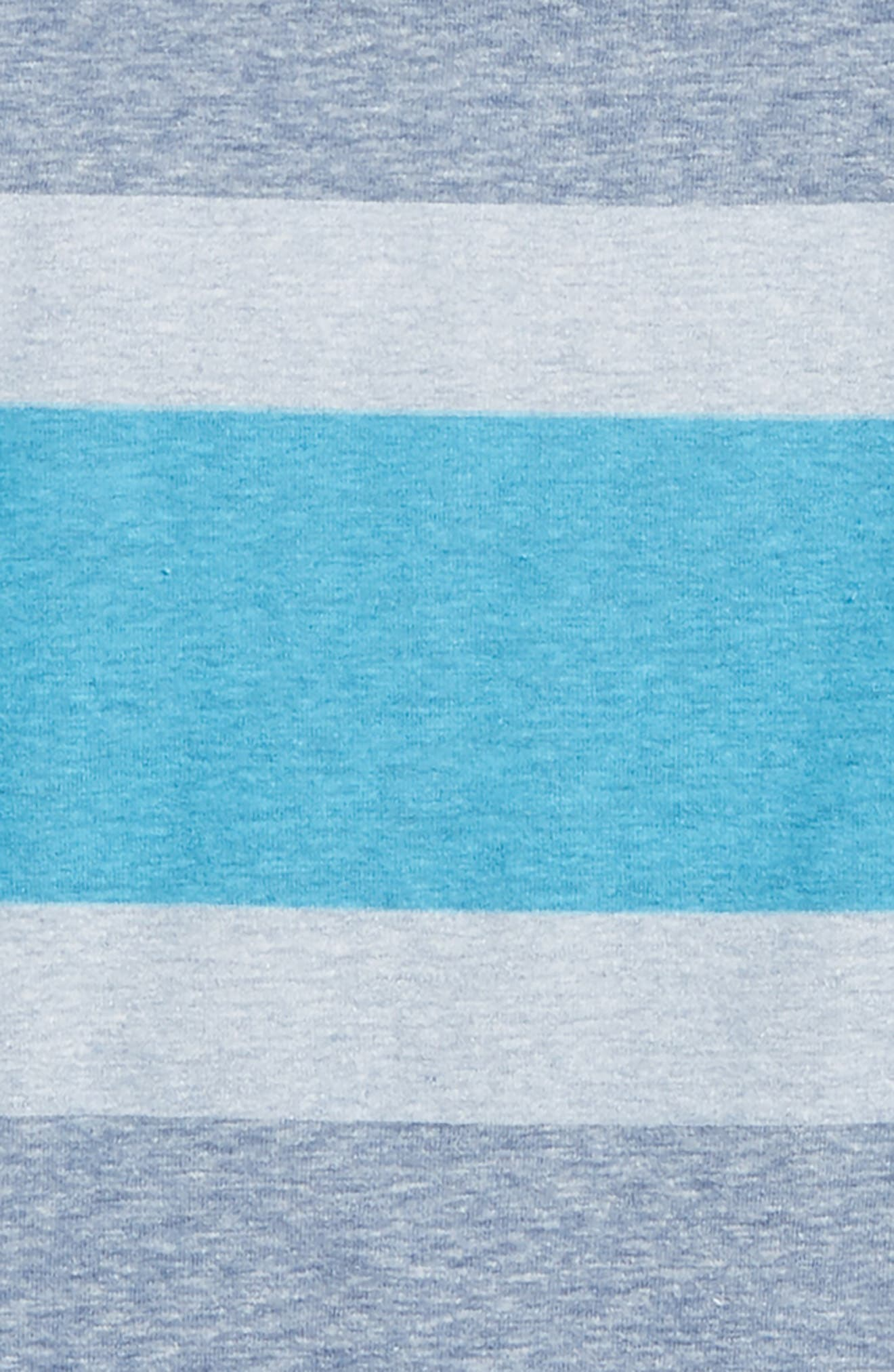 Stripe T-Shirt,                             Alternate thumbnail 2, color,                             Blue Calm- Blue