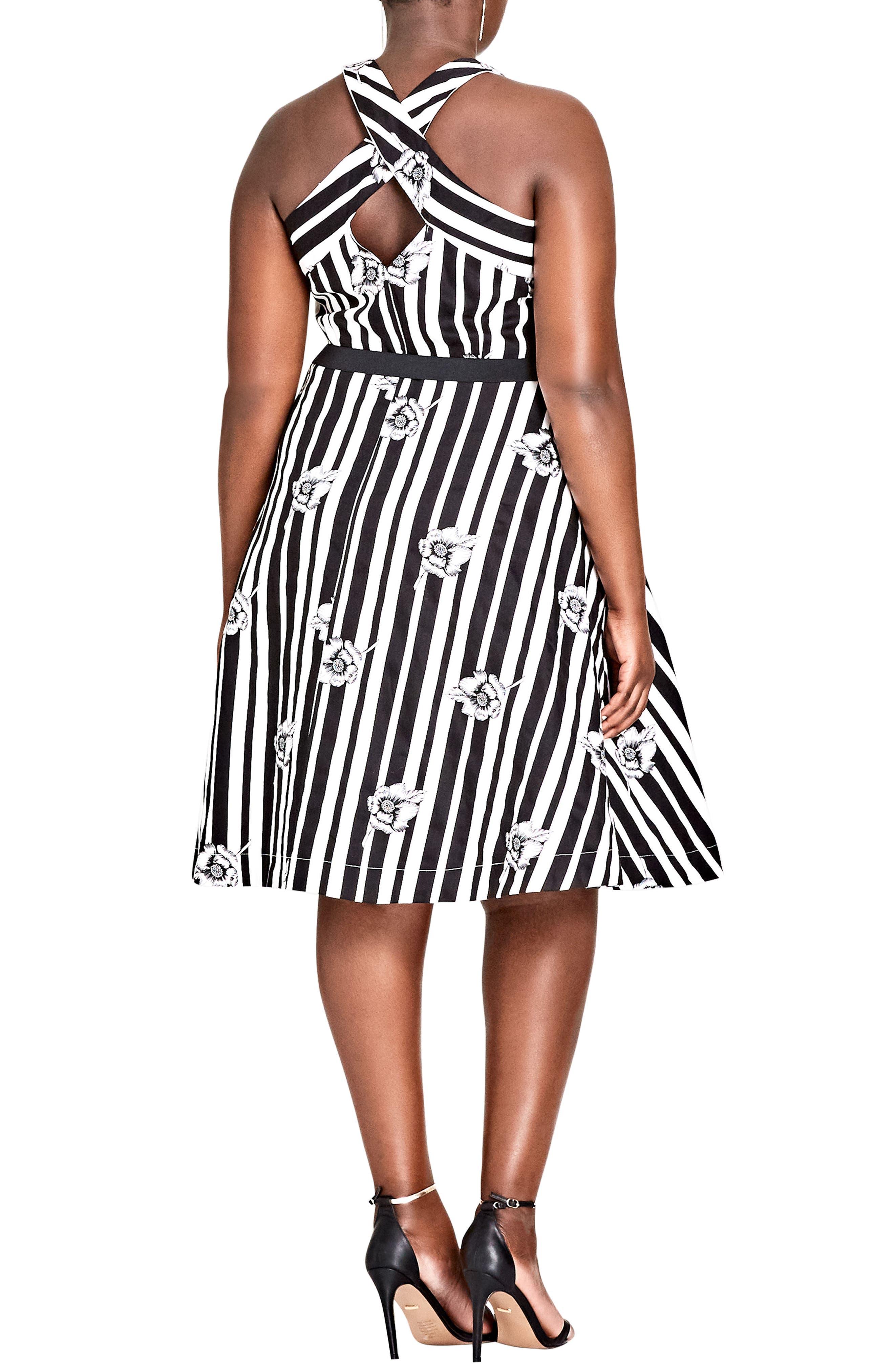 501b19ce86c Fit   Flare Plus-Size Dresses