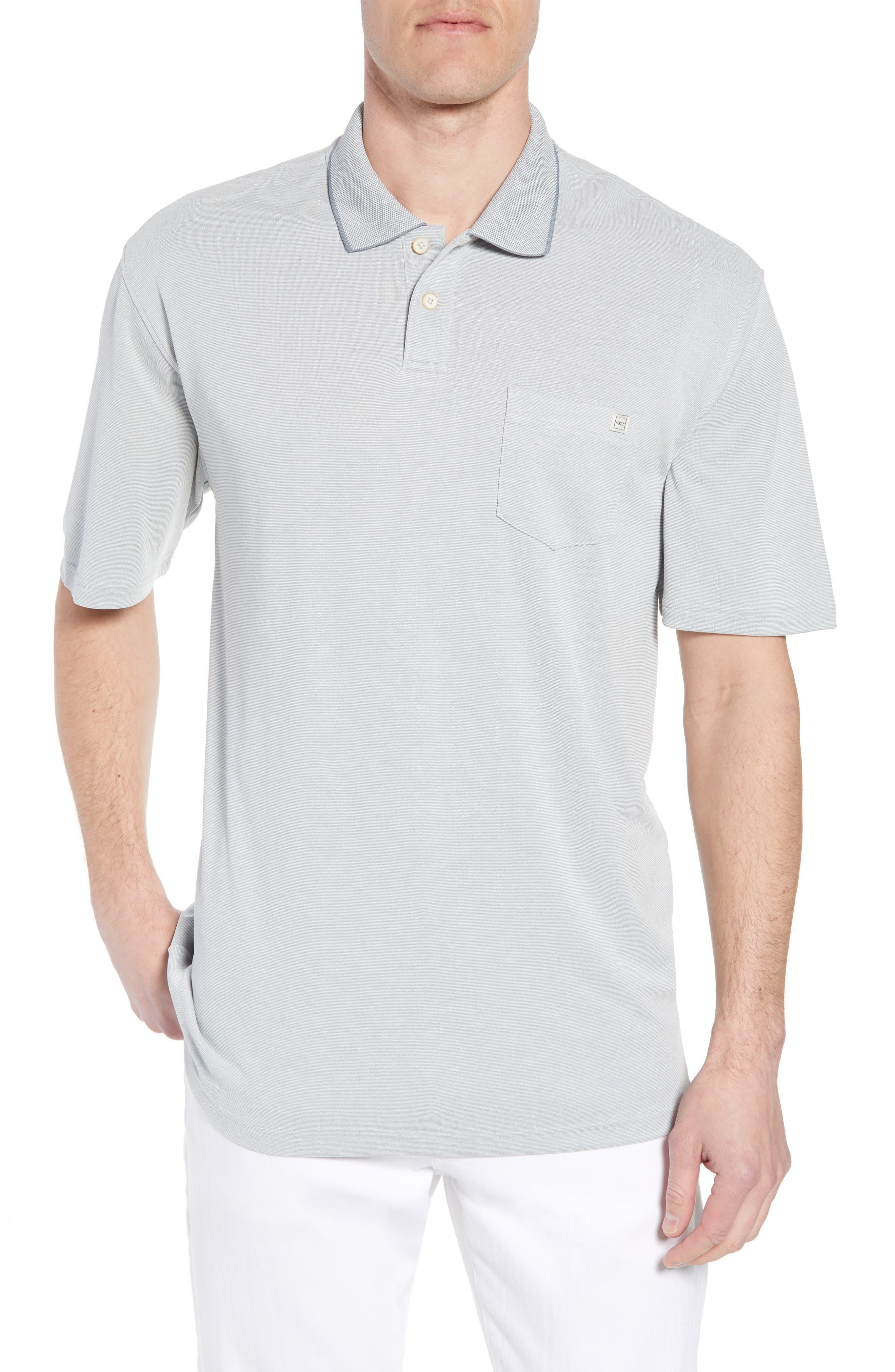 Gaviota Polo,                             Main thumbnail 1, color,                             Light Grey