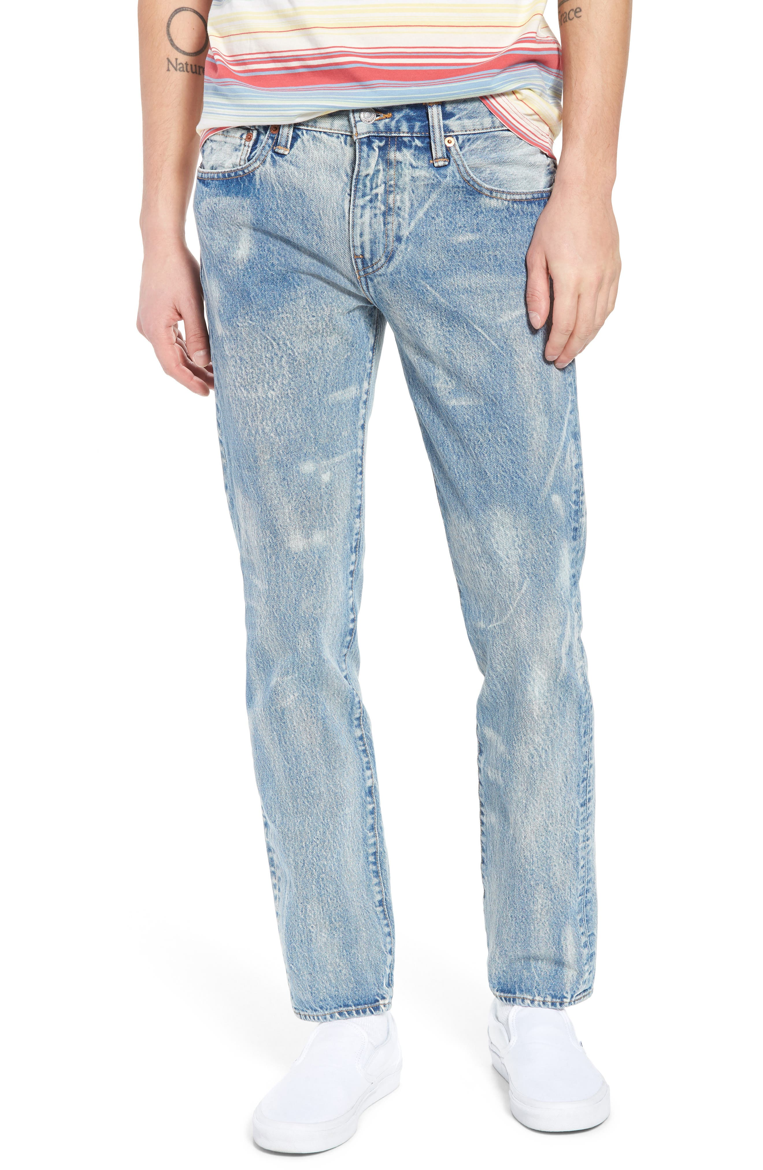 510<sup>™</sup> Skinny Jeans,                         Main,                         color, Rolled Up Dollar
