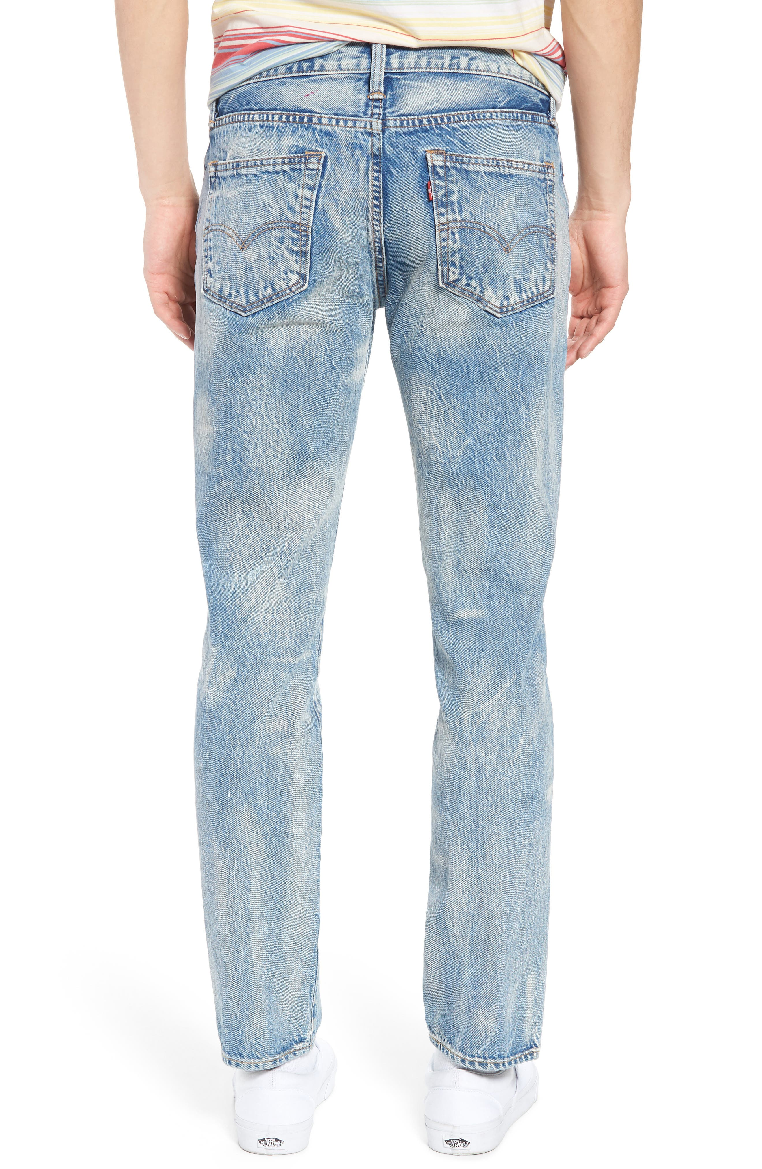 510<sup>™</sup> Skinny Jeans,                             Alternate thumbnail 2, color,                             Rolled Up Dollar