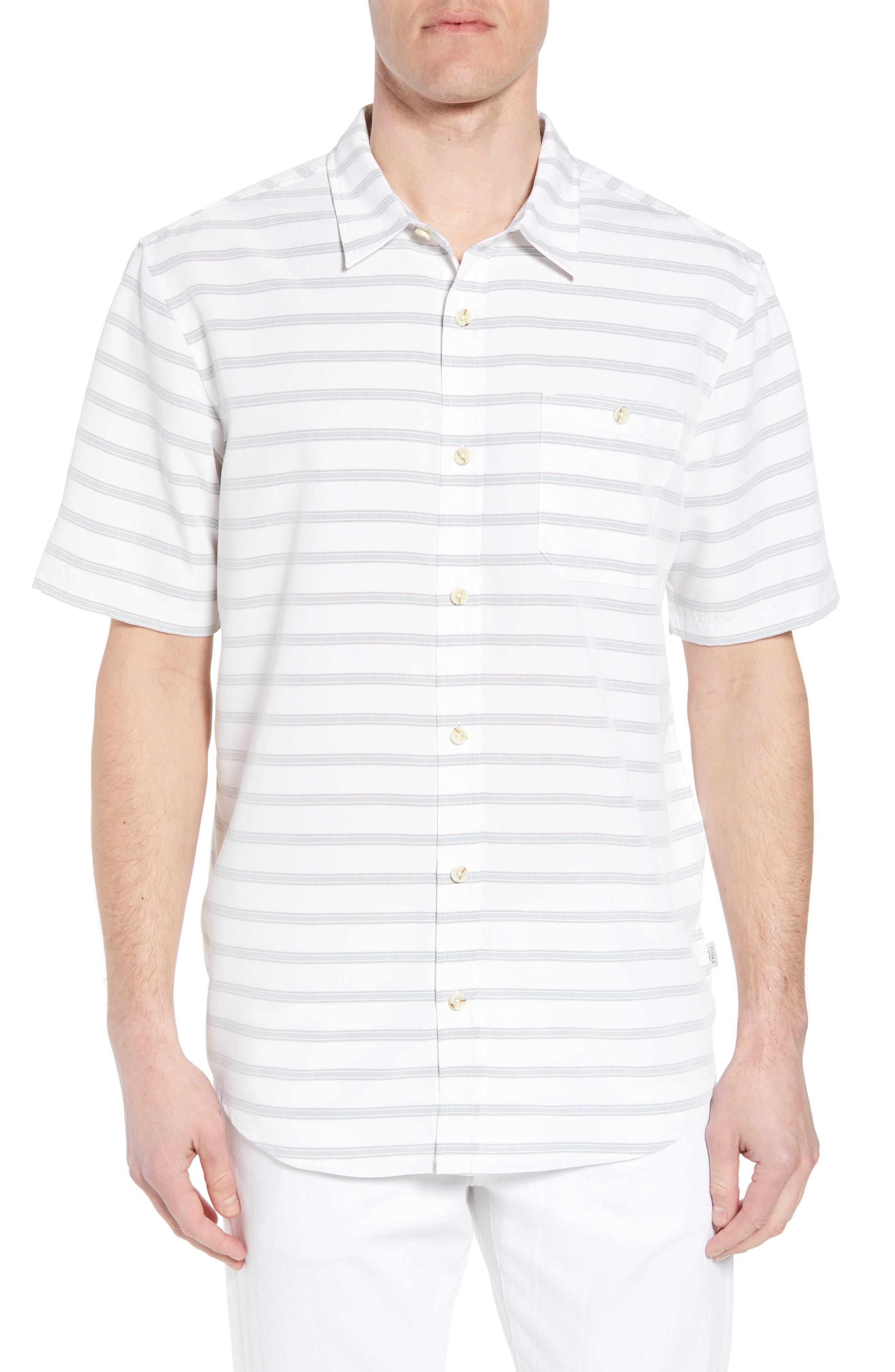 Slow Ride Sport Shirt,                             Main thumbnail 1, color,                             White