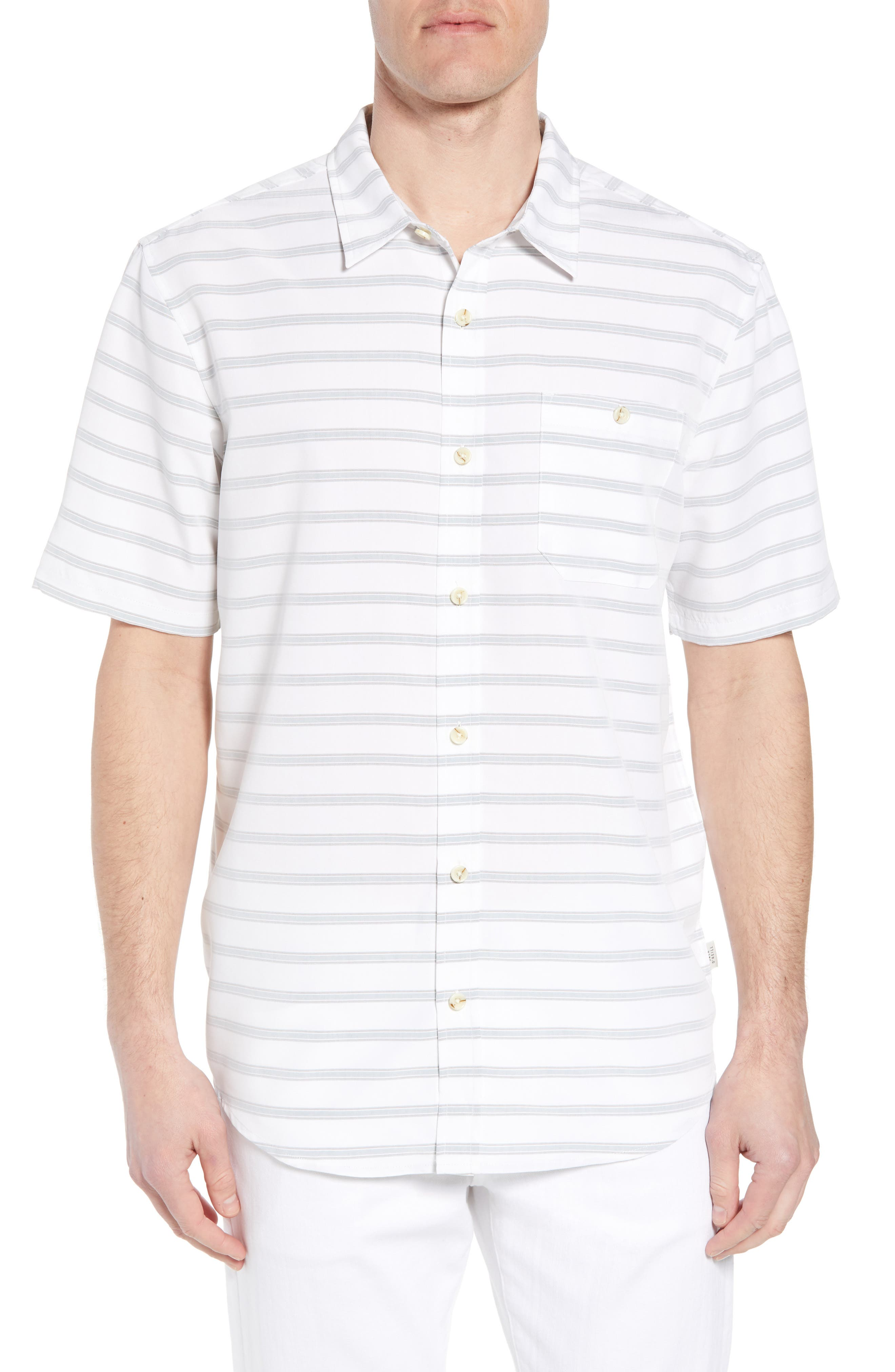 Slow Ride Sport Shirt,                         Main,                         color, White
