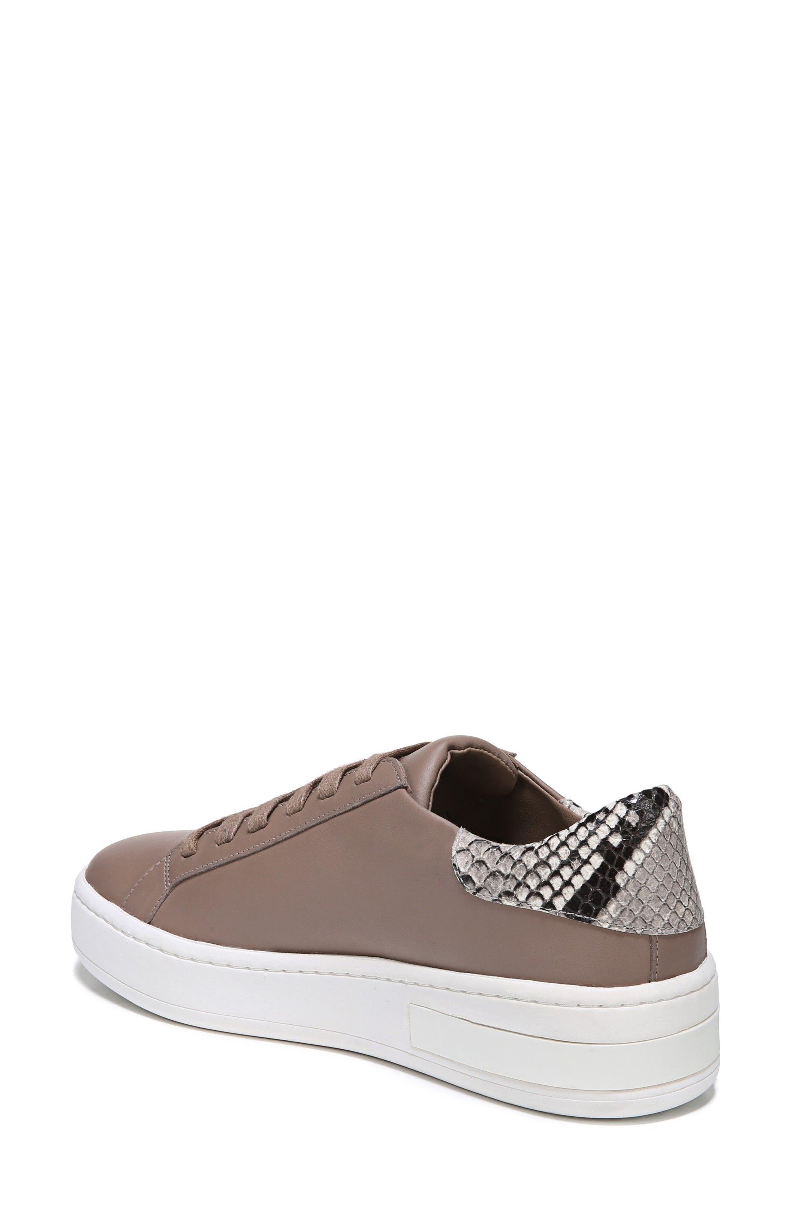 Rylen Platform Sneaker,                             Alternate thumbnail 2, color,                             Porcini/ Black/ White Leather