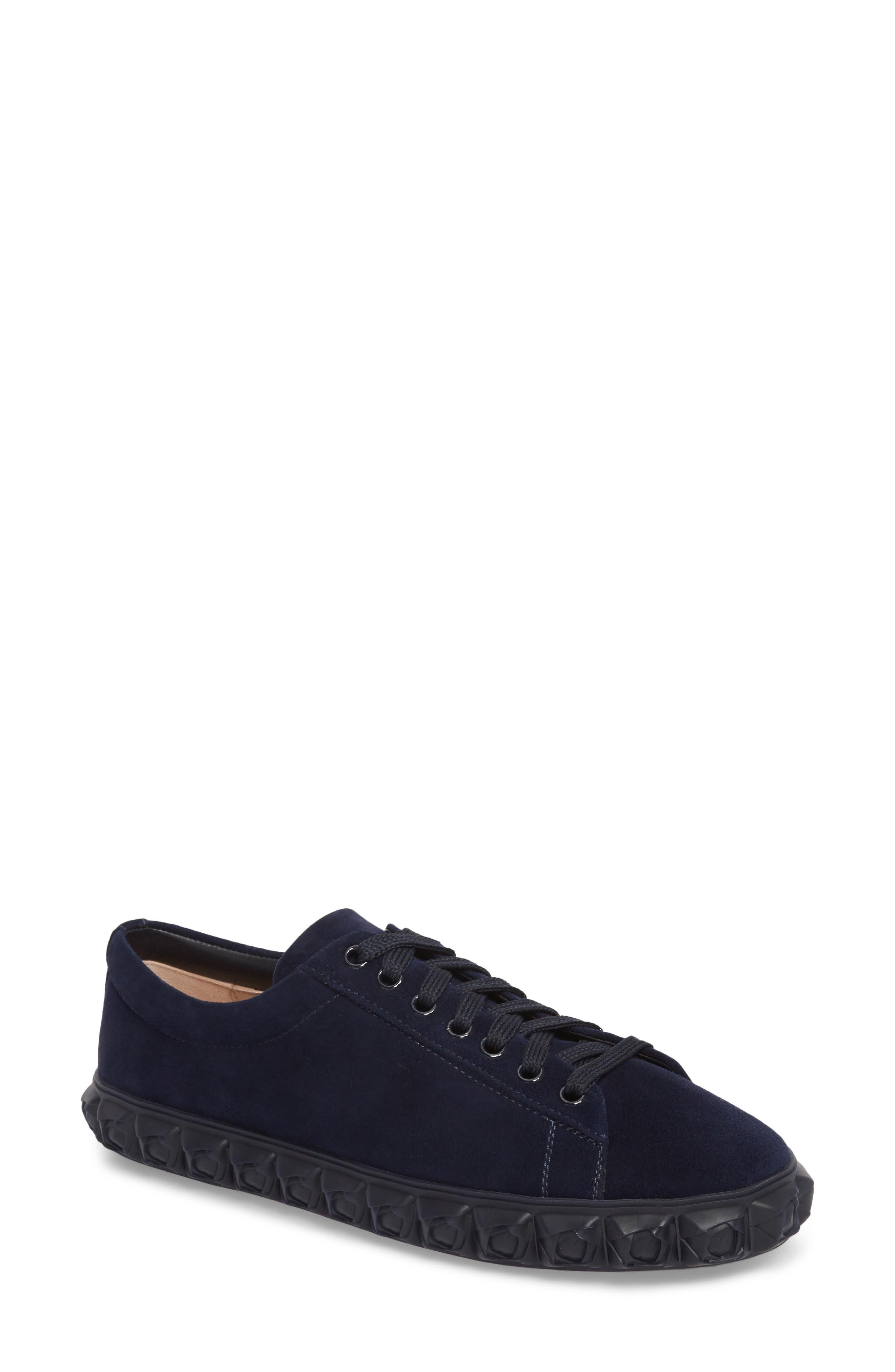 Coverstory Sneaker,                         Main,                         color, Navy Seda Suede