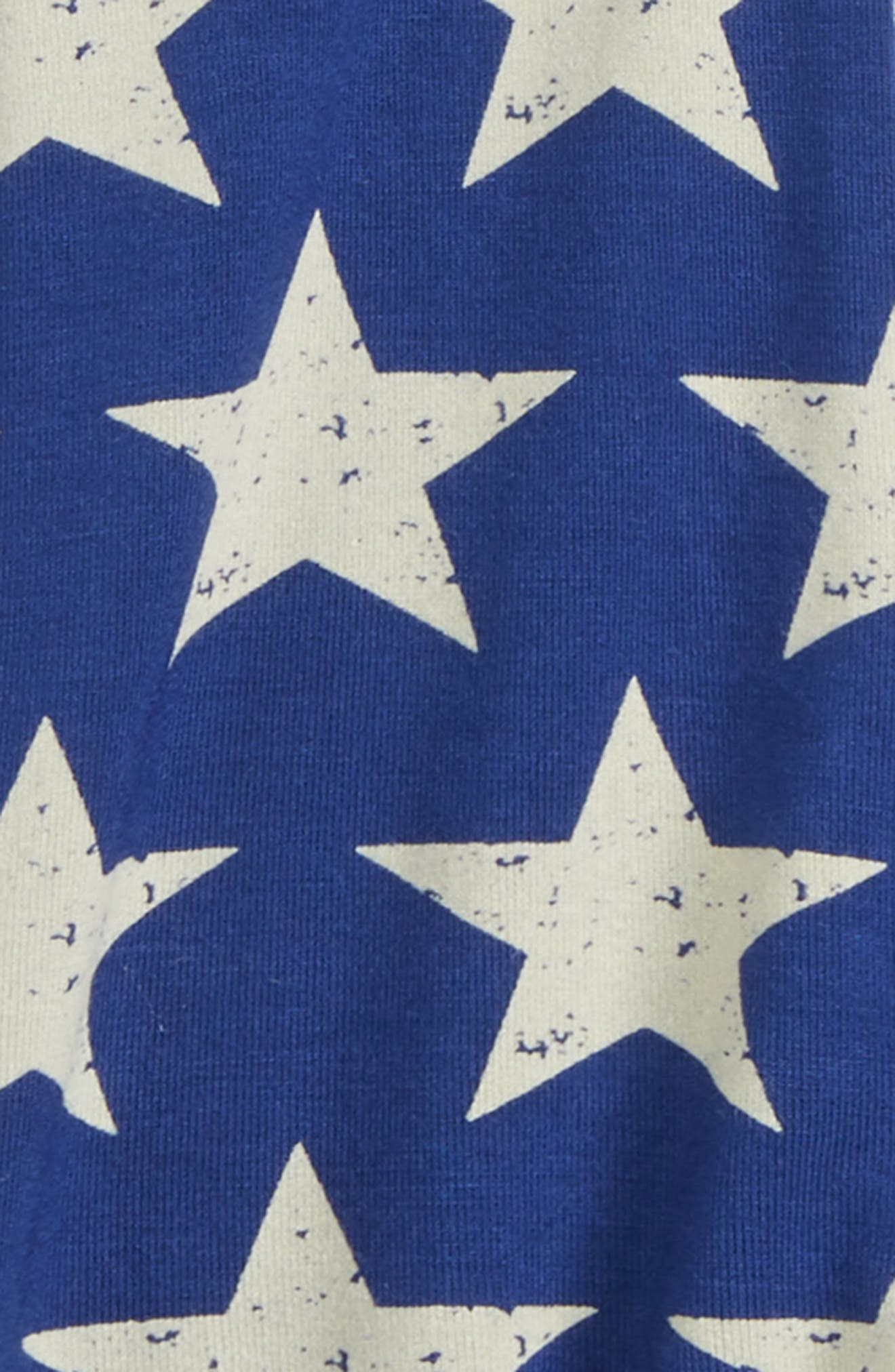 Star Footie,                             Alternate thumbnail 2, color,                             Vintage Stars