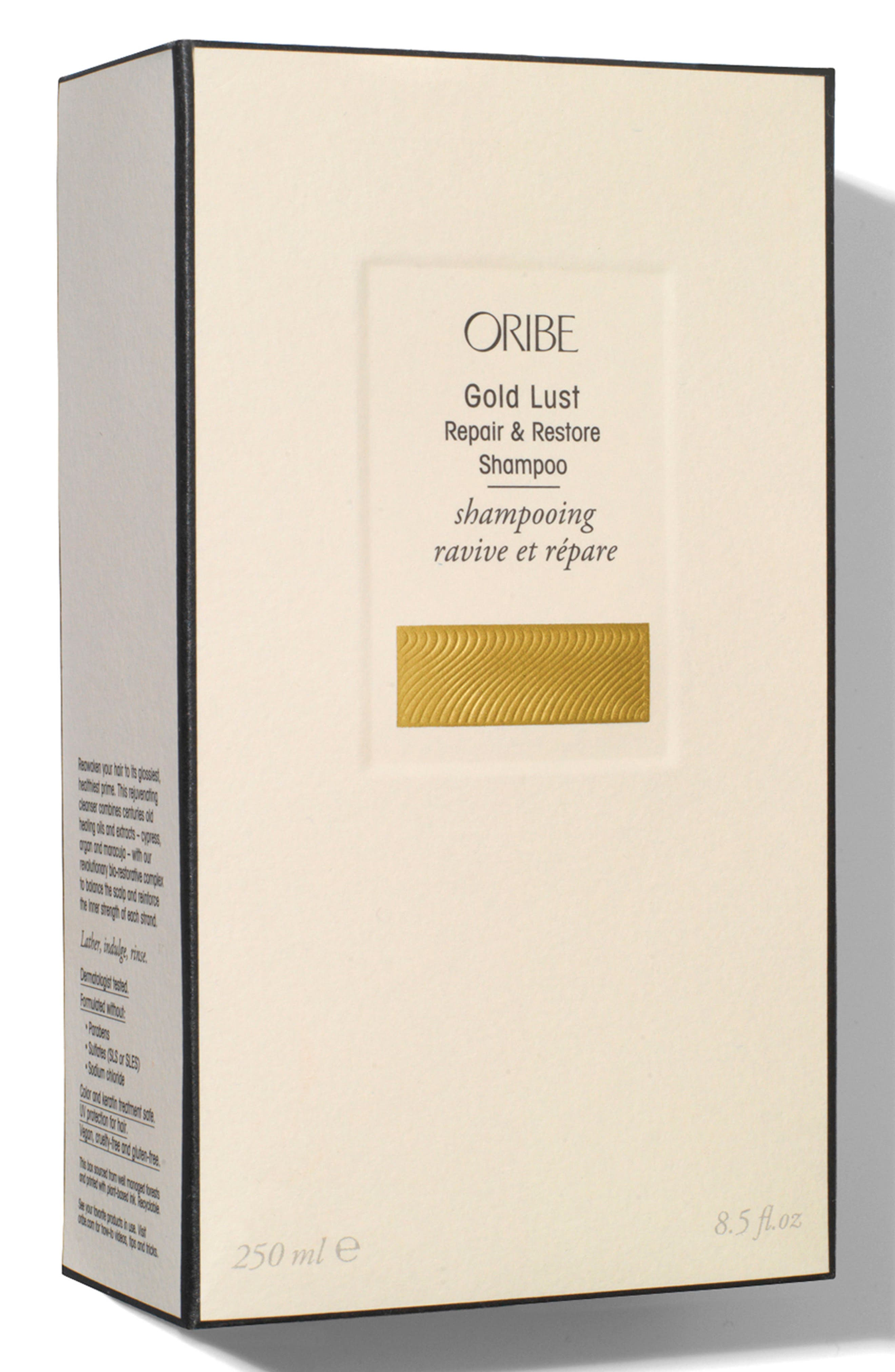 Alternate Image 5  - SPACE.NK.apothecary Oribe Gold Lust Repair & Restore Shampoo