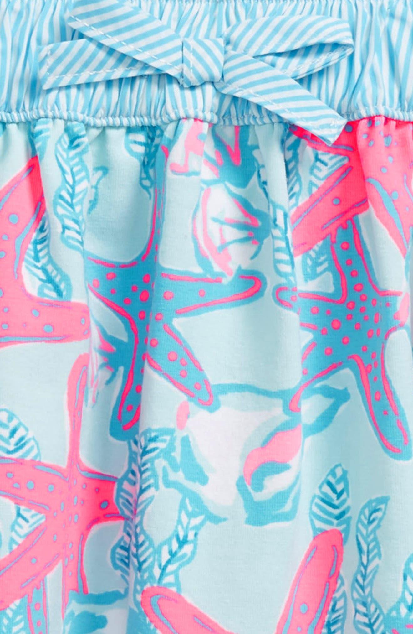 Alternate Image 2  - vineyard vines Print Skirt (Little Girls & Big Girls)