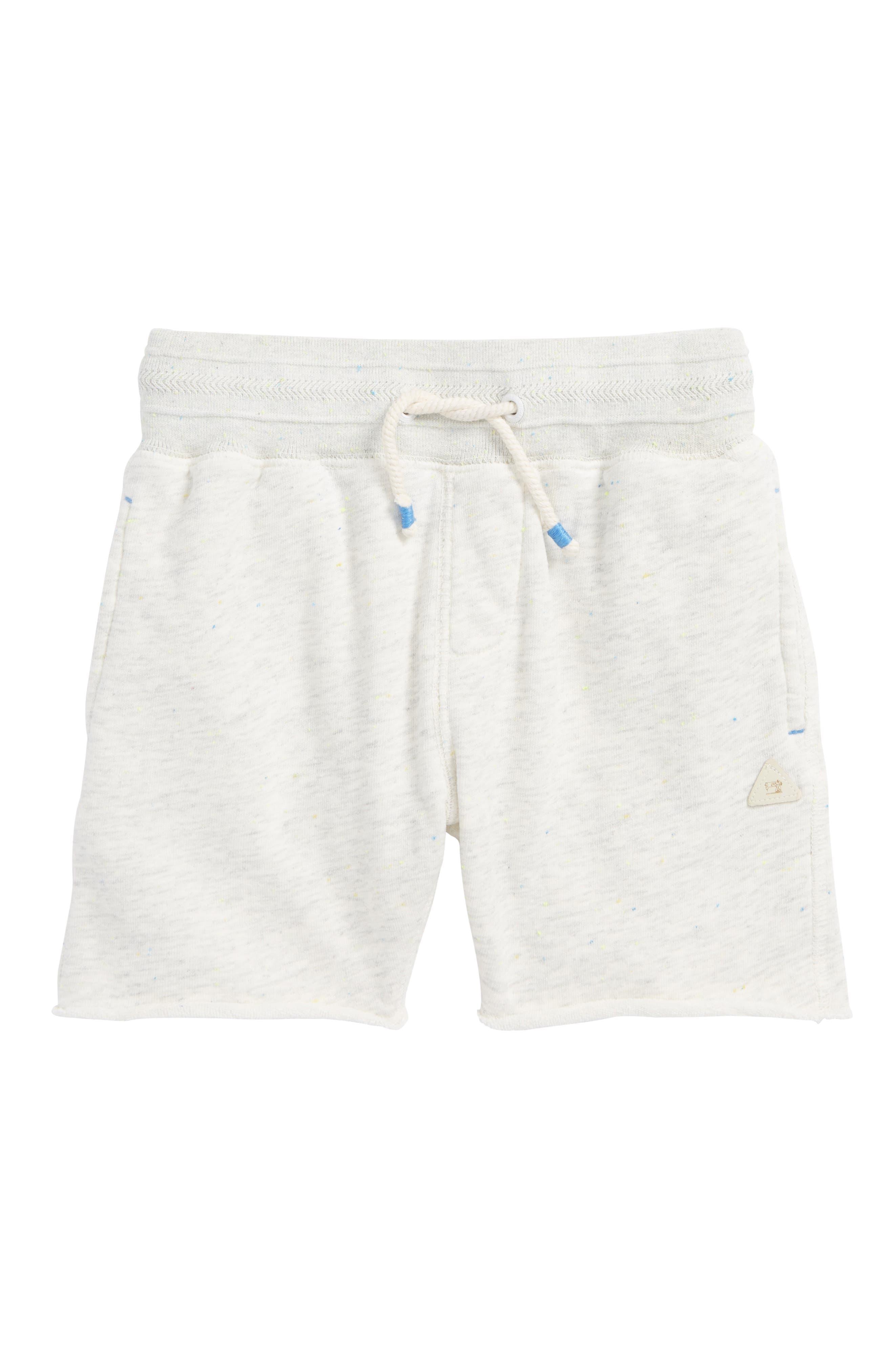 Pool Side Knit Shorts,                             Main thumbnail 1, color,                             Ecru