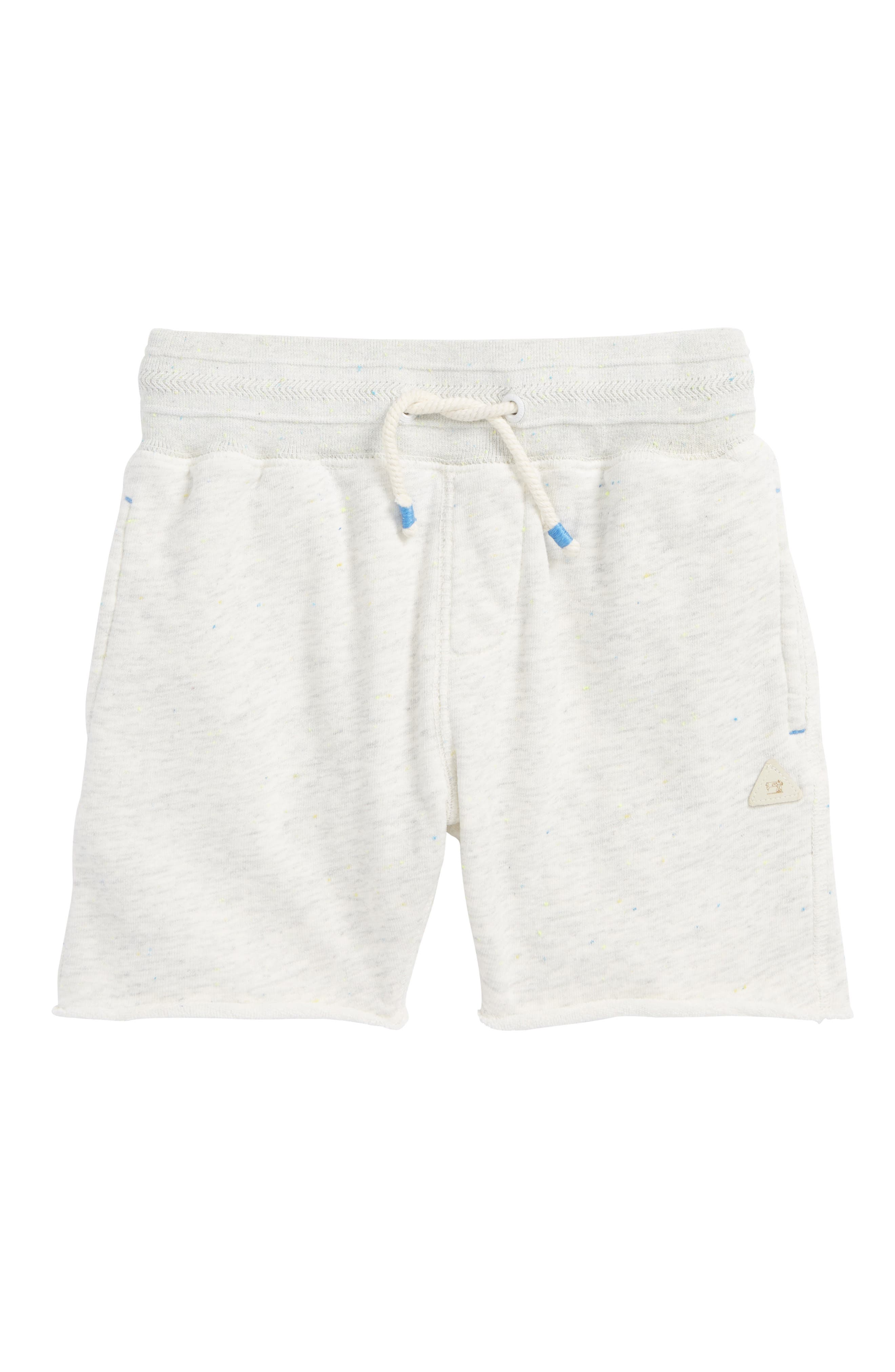 Pool Side Knit Shorts,                         Main,                         color, Ecru