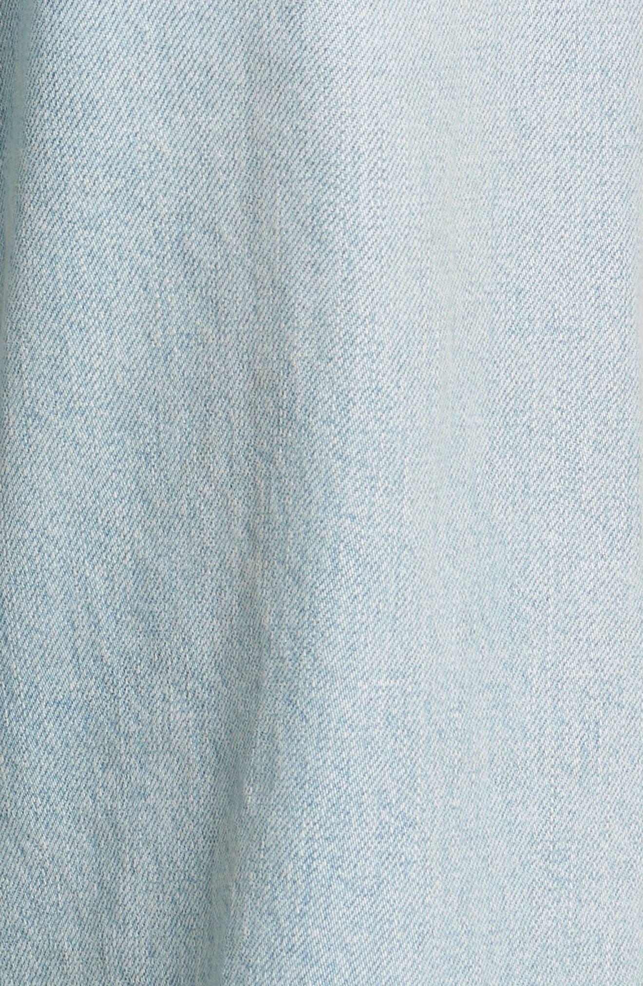 Tibbee Ripped Jeans,                             Alternate thumbnail 6, color,                             Light Indigo