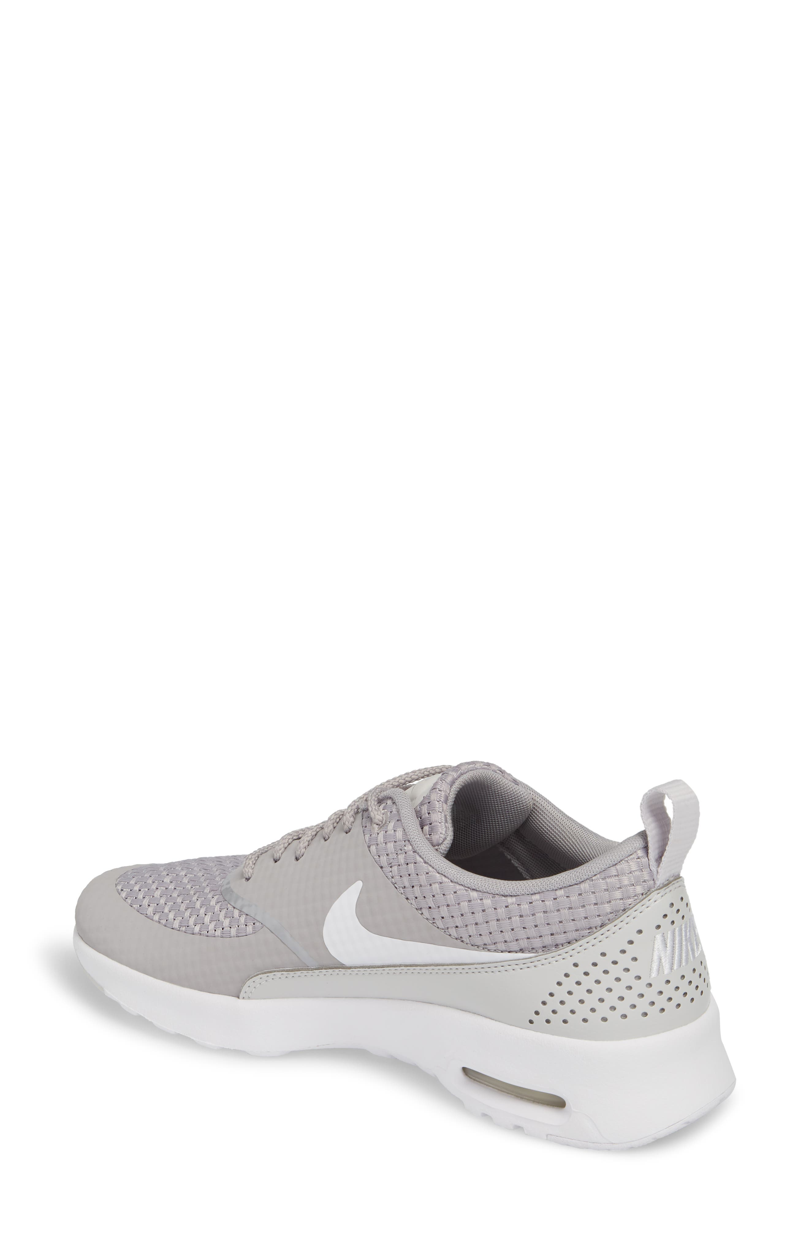Air Max Thea Sneaker,                             Alternate thumbnail 2, color,                             Atmosphere Grey/ White