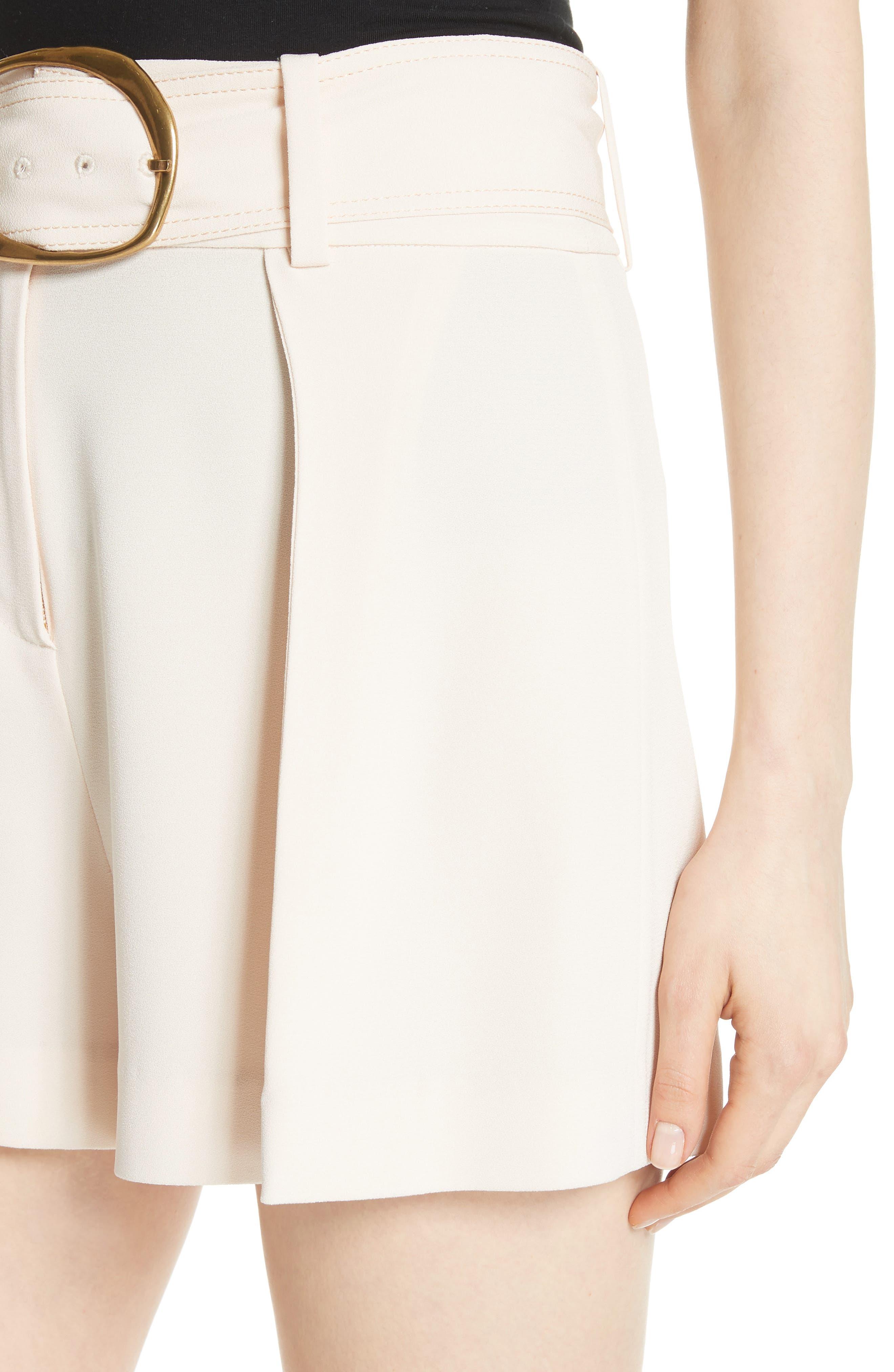 Belted Shorts,                             Alternate thumbnail 4, color,                             Sandstone