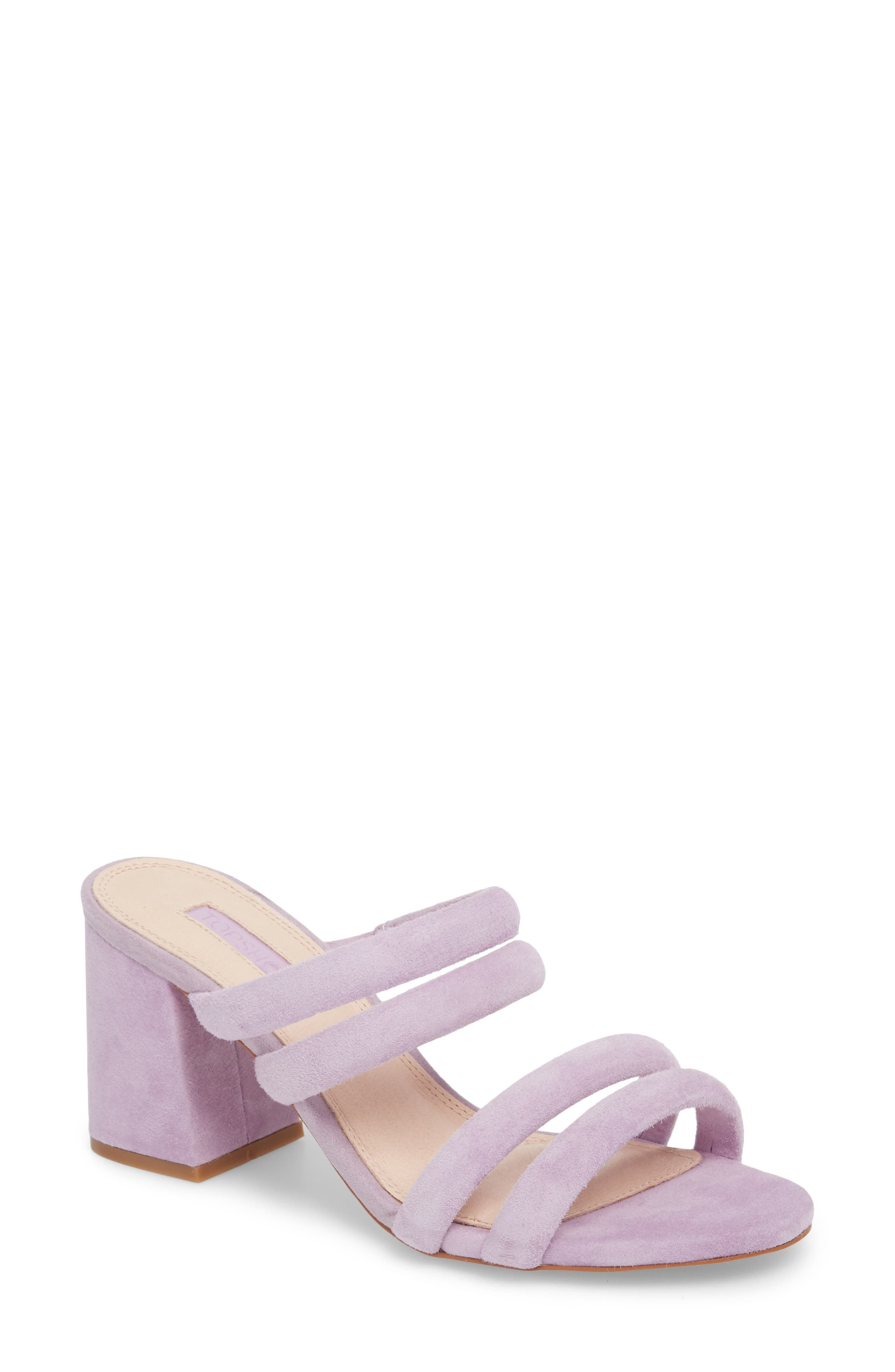 Topshop Nicky Four Strap Mule (Women)