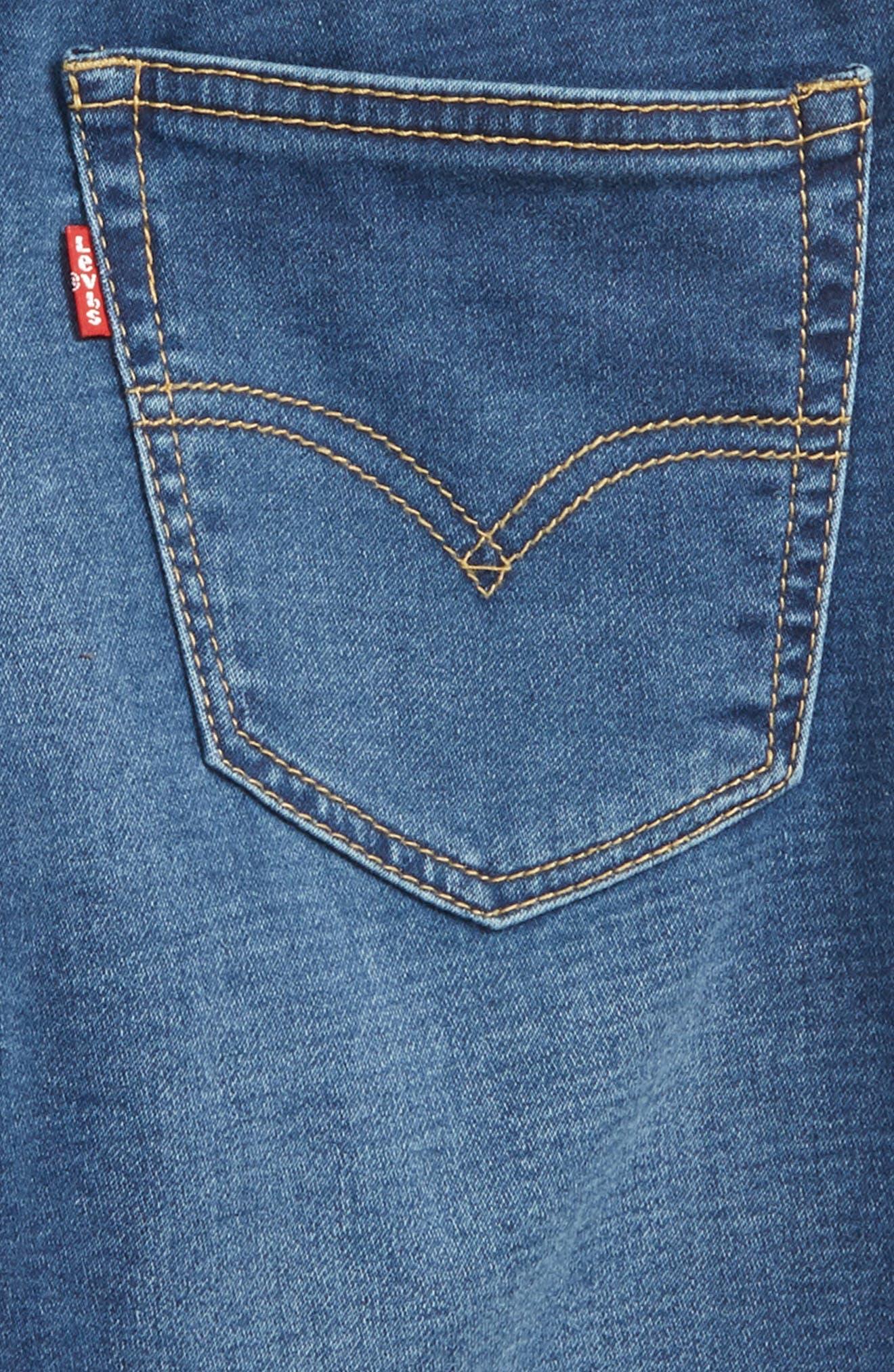 Levi's Super Chill Denim Shorts,                             Alternate thumbnail 3, color,                             Coastal Sd