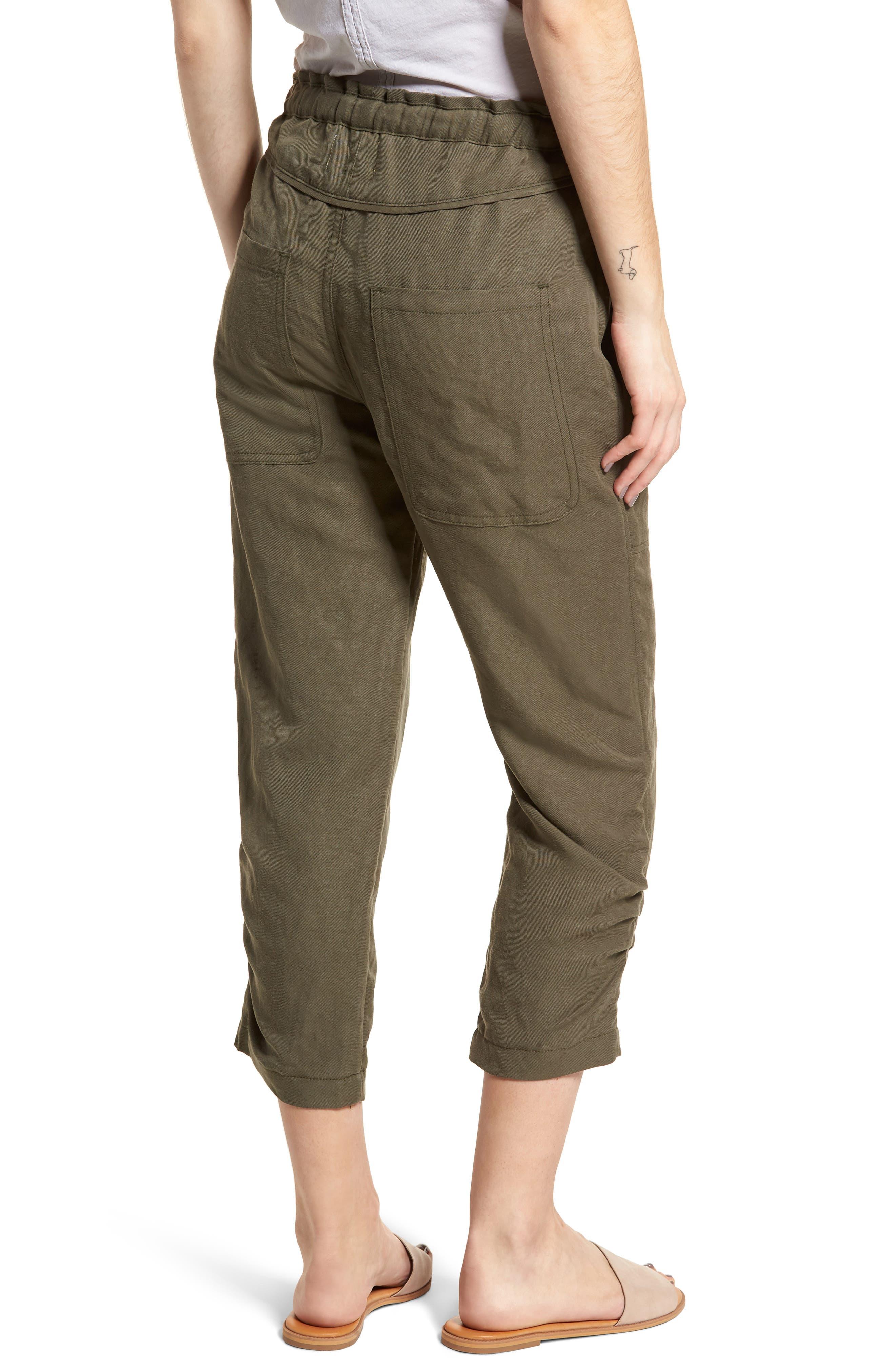 Stellina High Waist Pants,                             Alternate thumbnail 2, color,                             Verdant