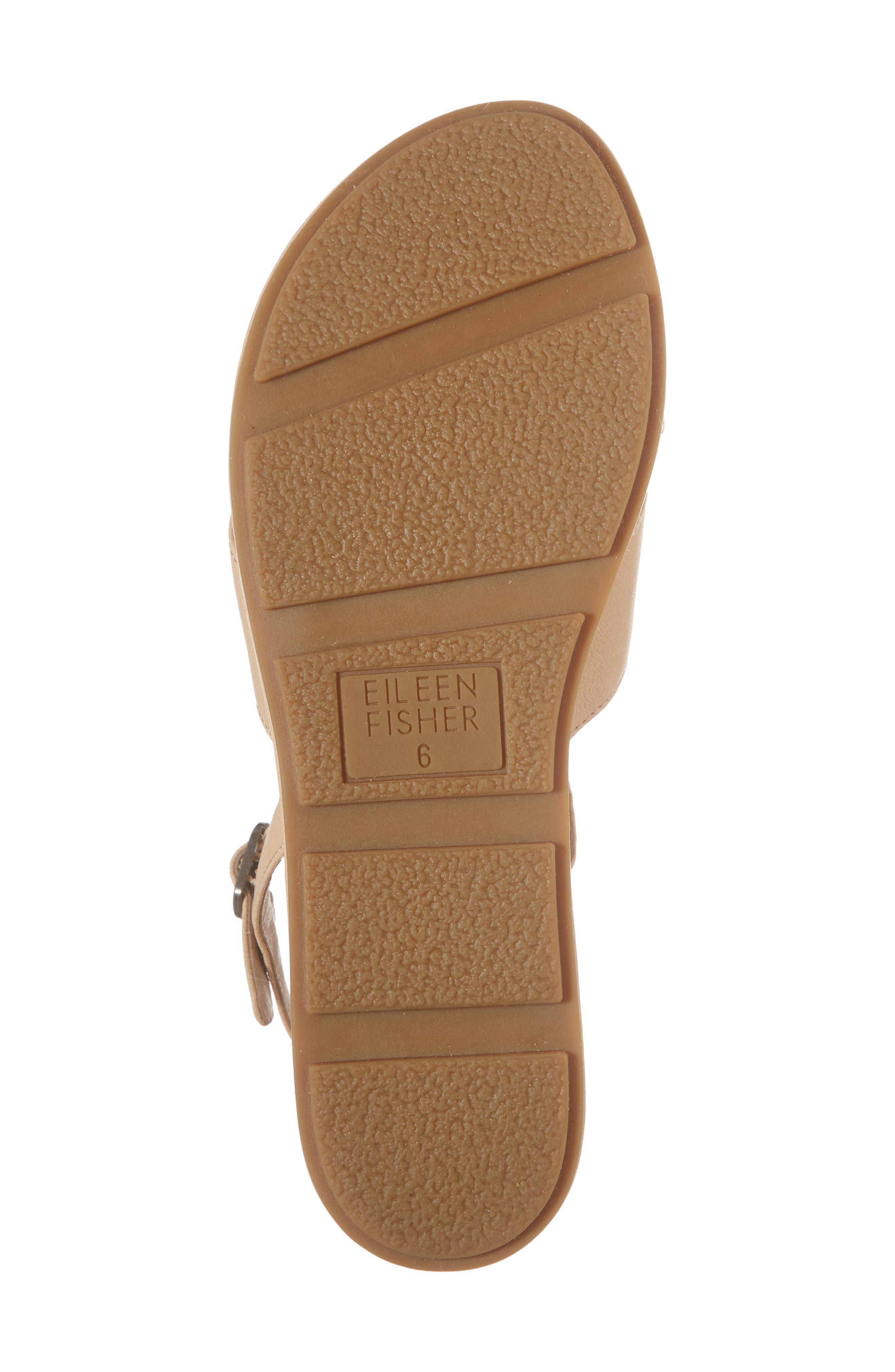 Juno Platform Sandal,                             Alternate thumbnail 6, color,                             Desert Leather