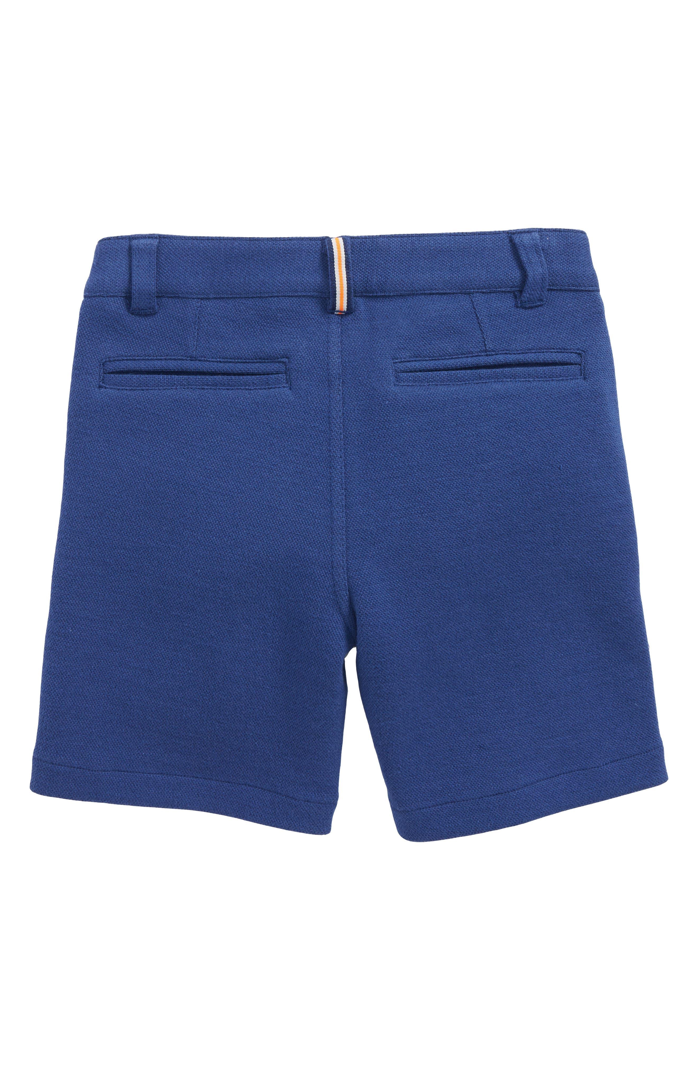Jersey Chino Shorts,                             Alternate thumbnail 2, color,                             Beacon Blue
