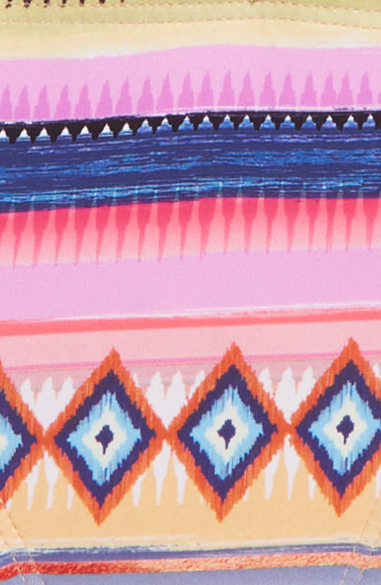 Stripe Two-Piece Swimsuit,                             Alternate thumbnail 2, color,                             Multi